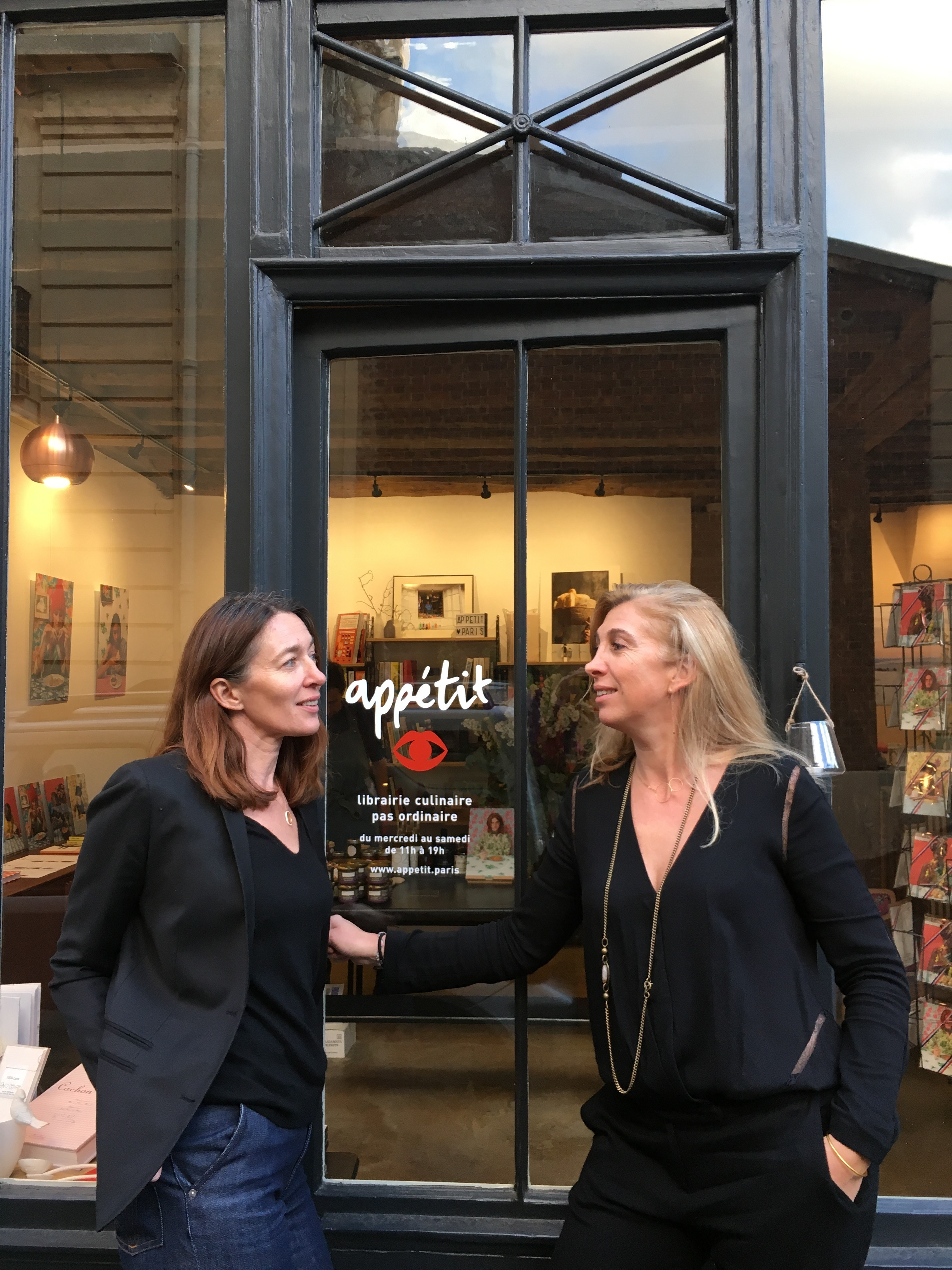 Voyage en littérature - Appétit - Sandrine et Clotilde