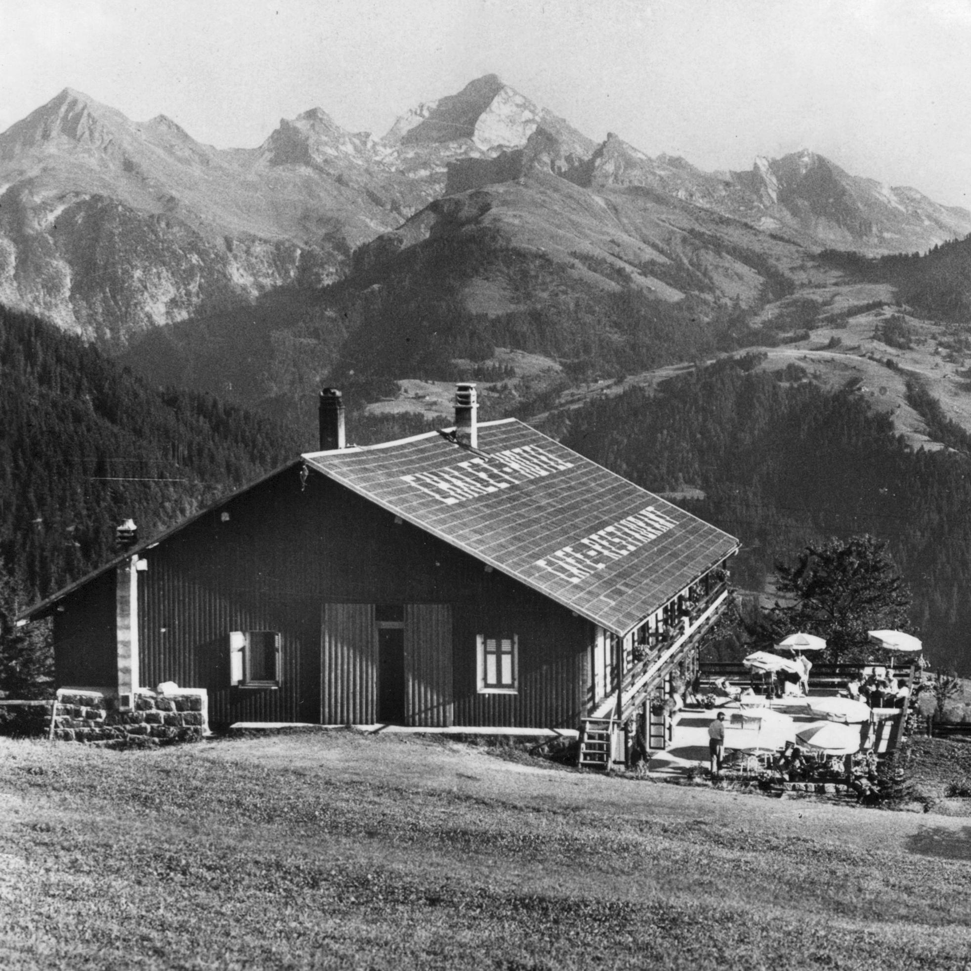Chalet Croix Fry ~ 1950
