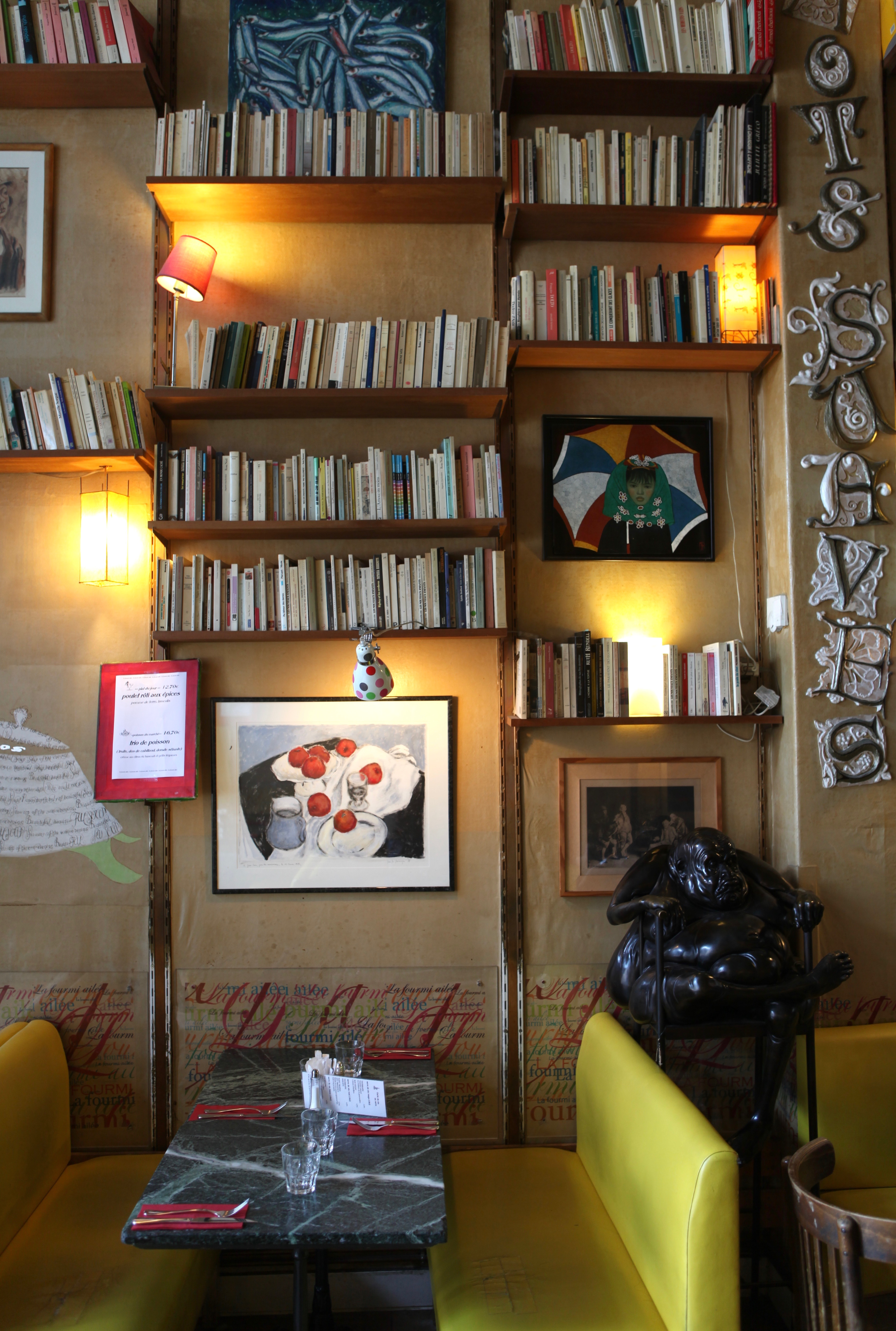 Voyage en littérature - La Fourmie Aillée