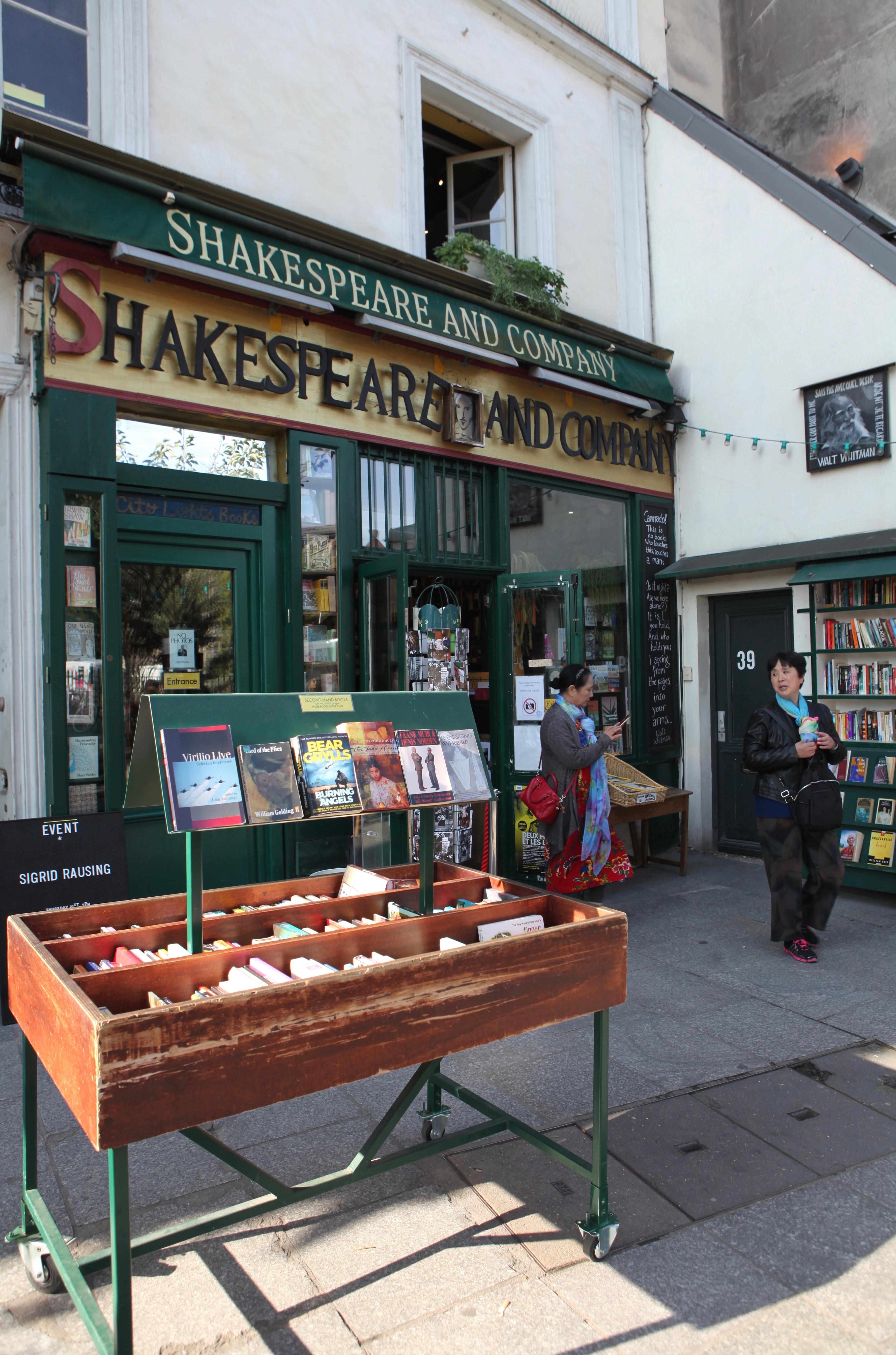 Voyage en littérature - Shakespeare & compagnie