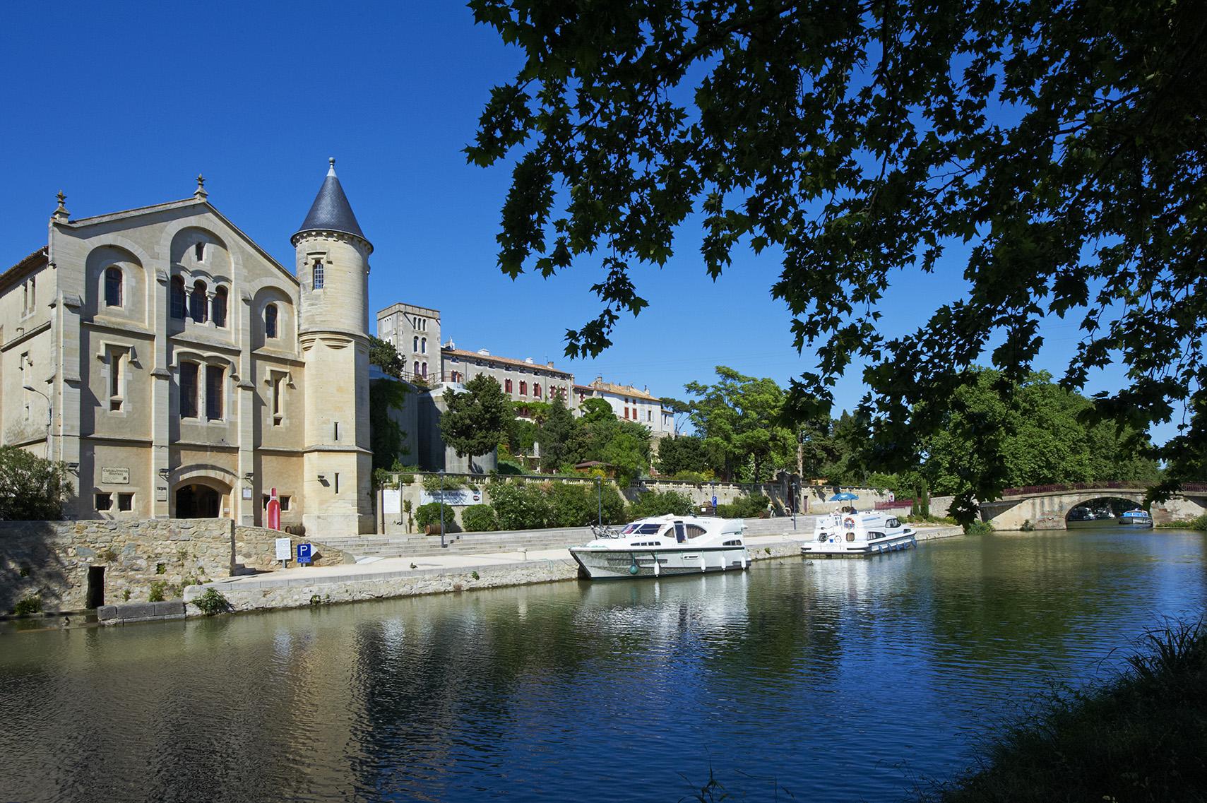 France, Languedoc-Roussillon, Aude (11), Ventenac-en-Minervois, Canal du Midi