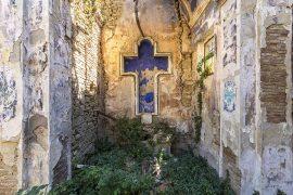 ITALIE Centre Chapelle abandonnée en campagne