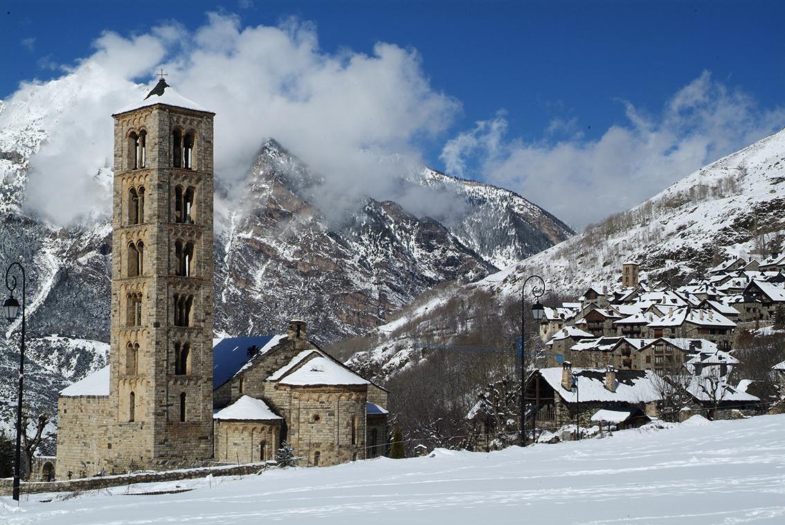 Sant Climent de Taüll nevat. Alta Ribagorça