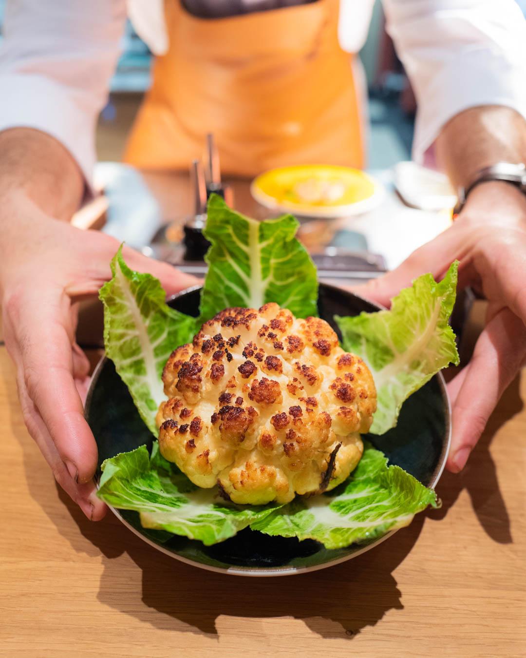 Chou fleur roti -Brach - Restaurant - Hemblem