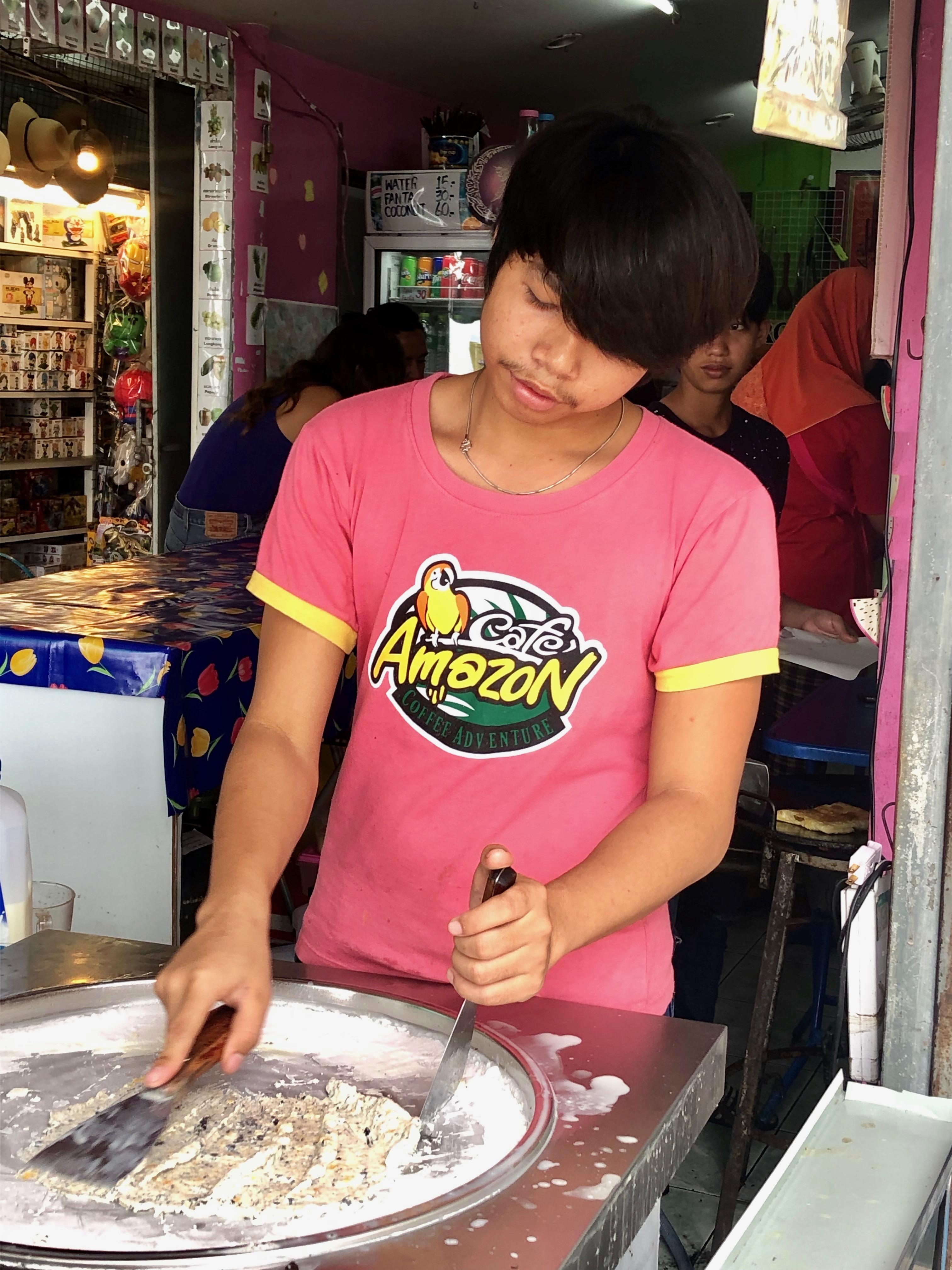 KRABI ice cream roll