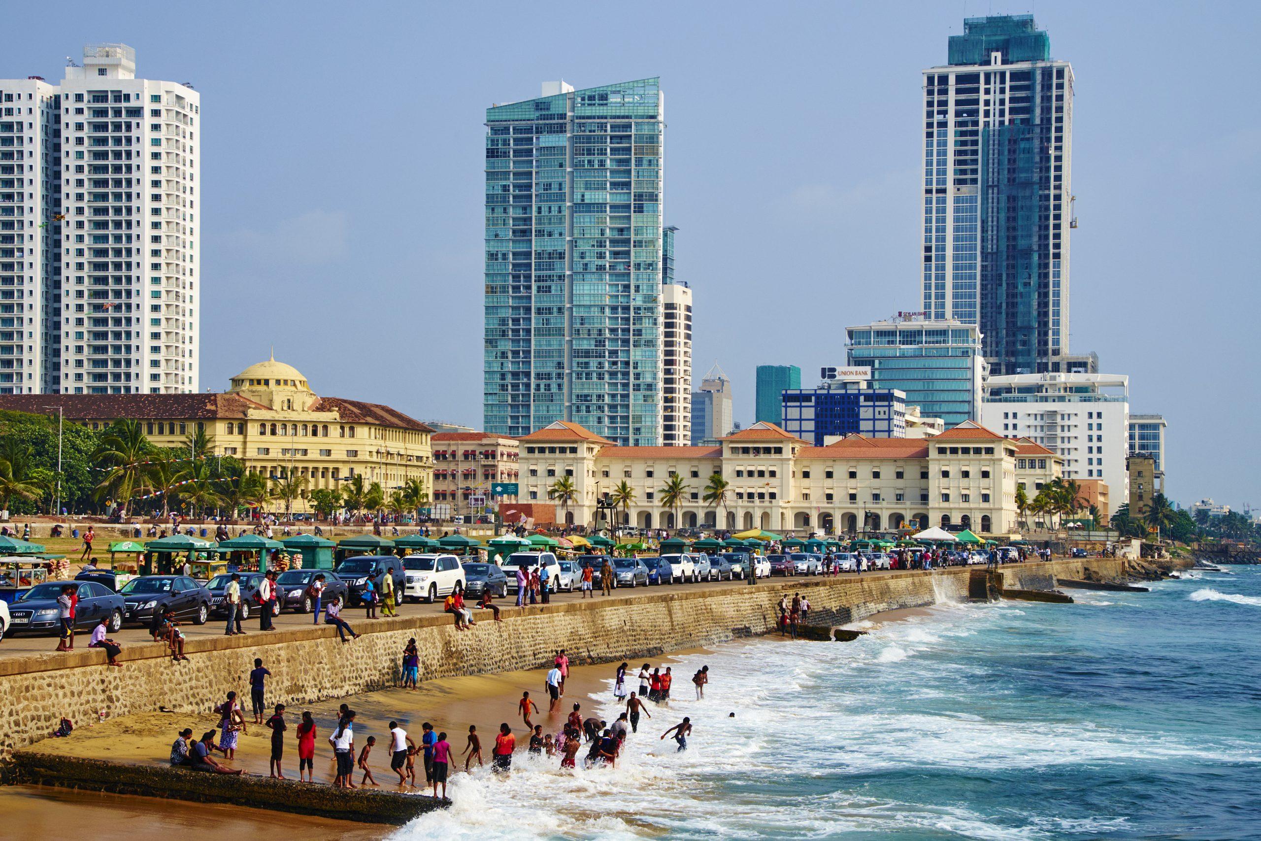 Sri Lanka, Colombo, Galle Face Beach