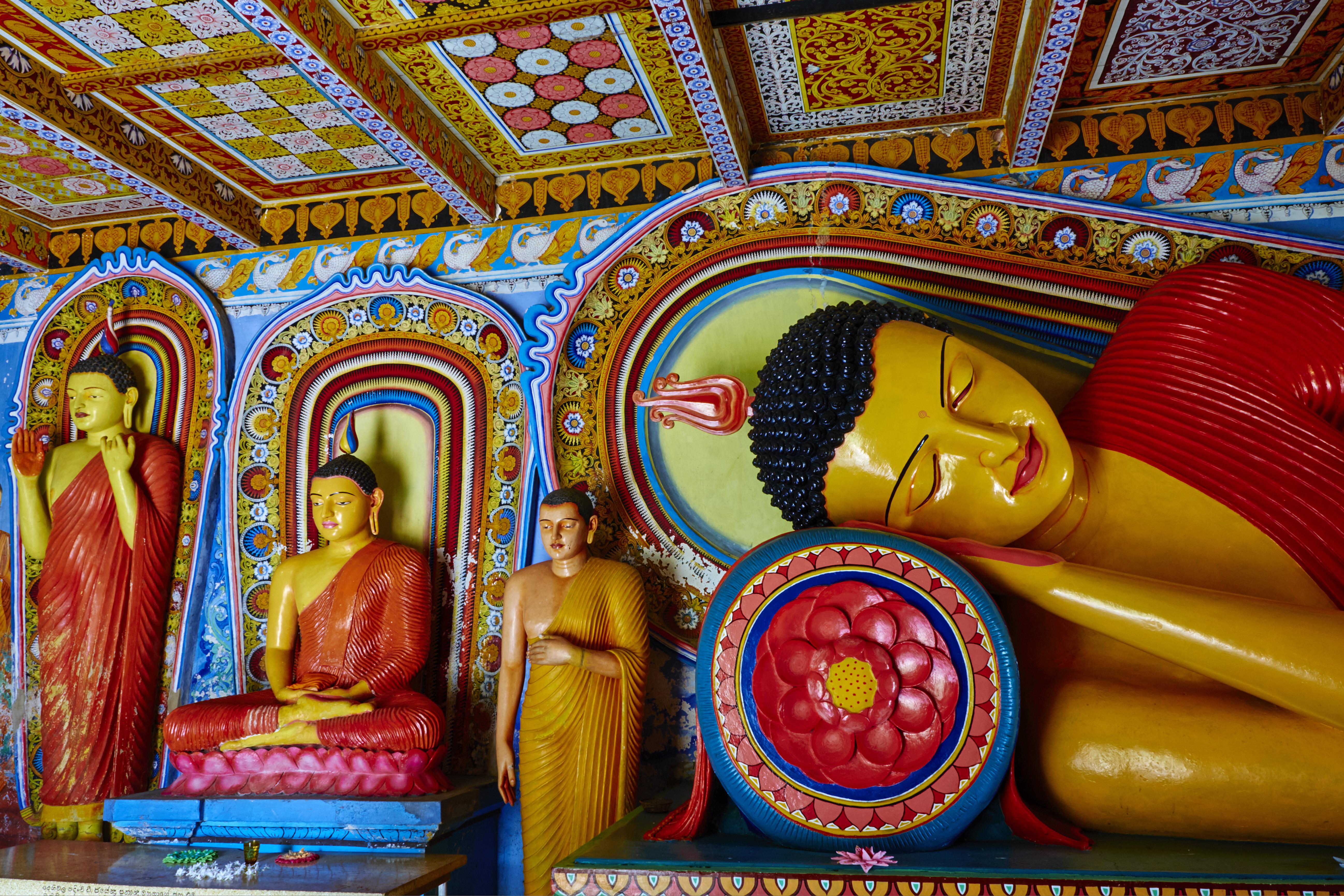 Sri Lanka, Anuradhapura, Isurumuniya Vihara temple