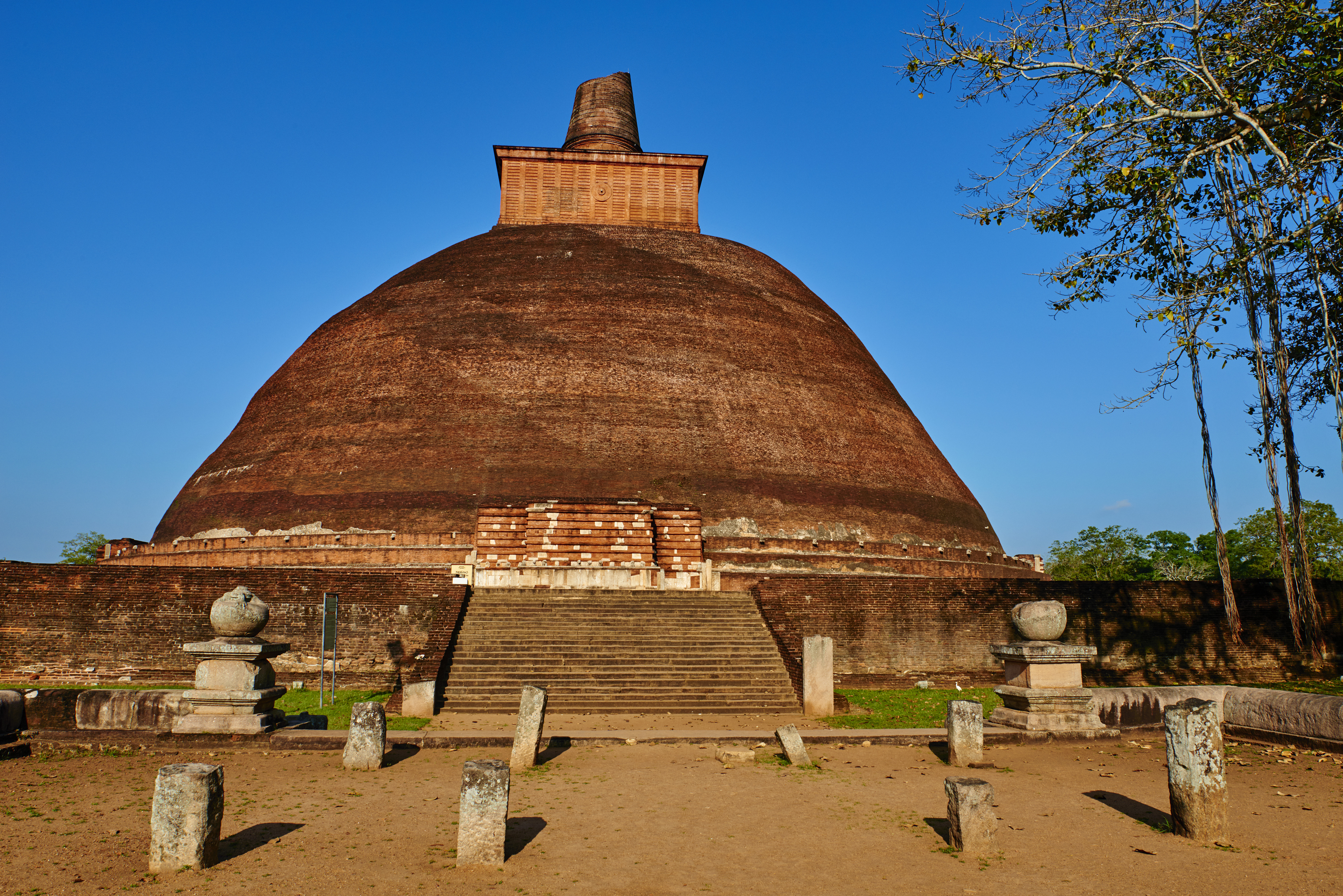 Sri Lanka, Anuradhapura, Abhayagiri temple