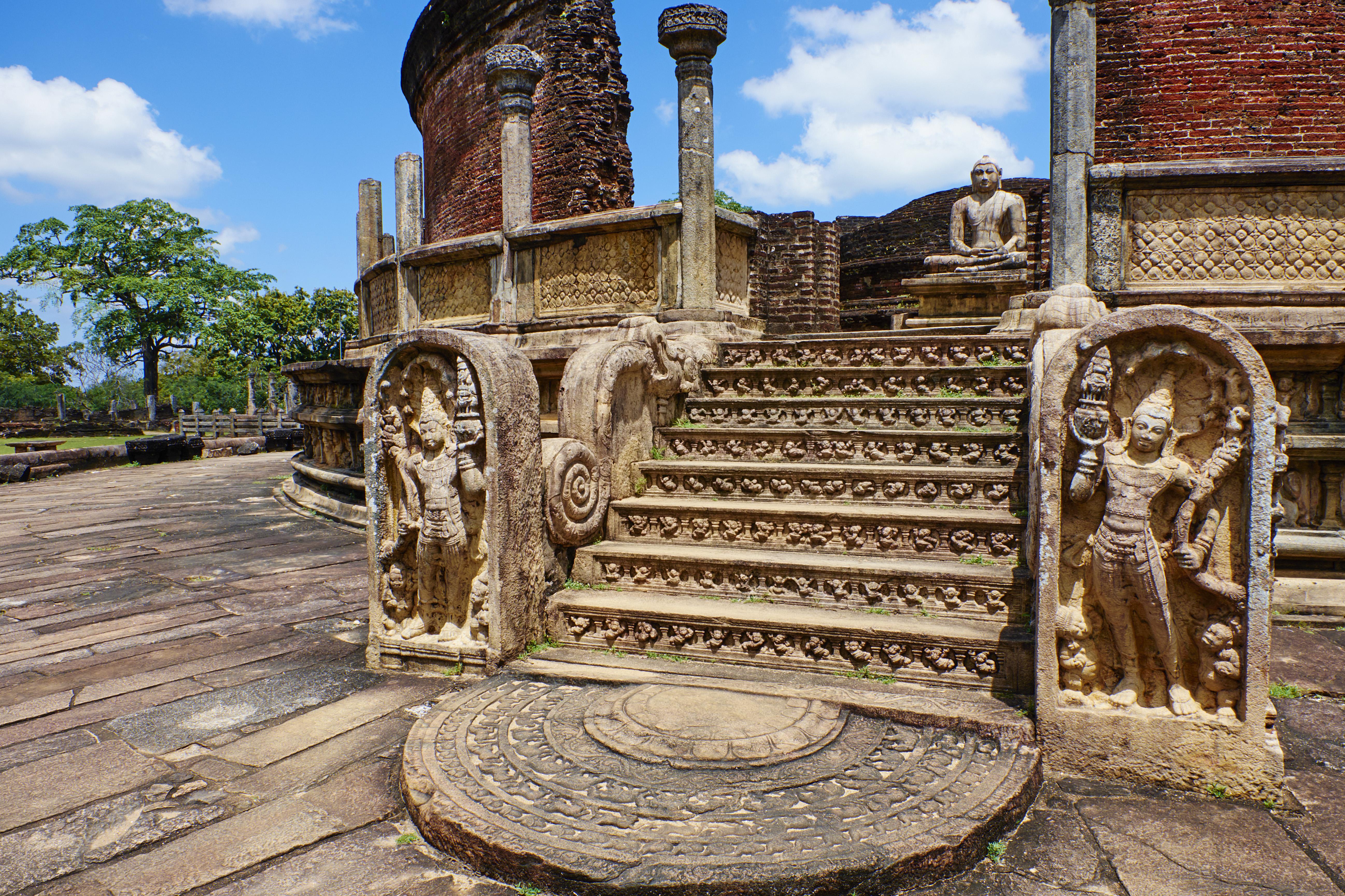Sri Lanka, Polonnaruwa, quadrangle