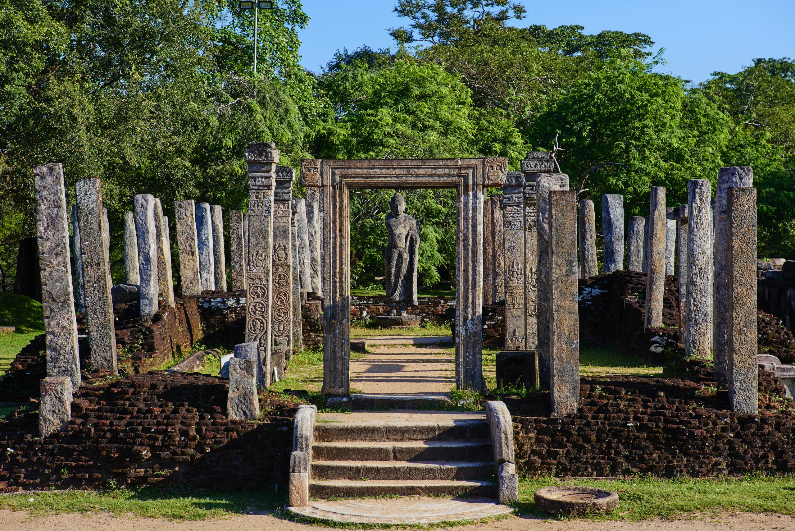 Sri Lanka, Polonnaruwa, quadrangle