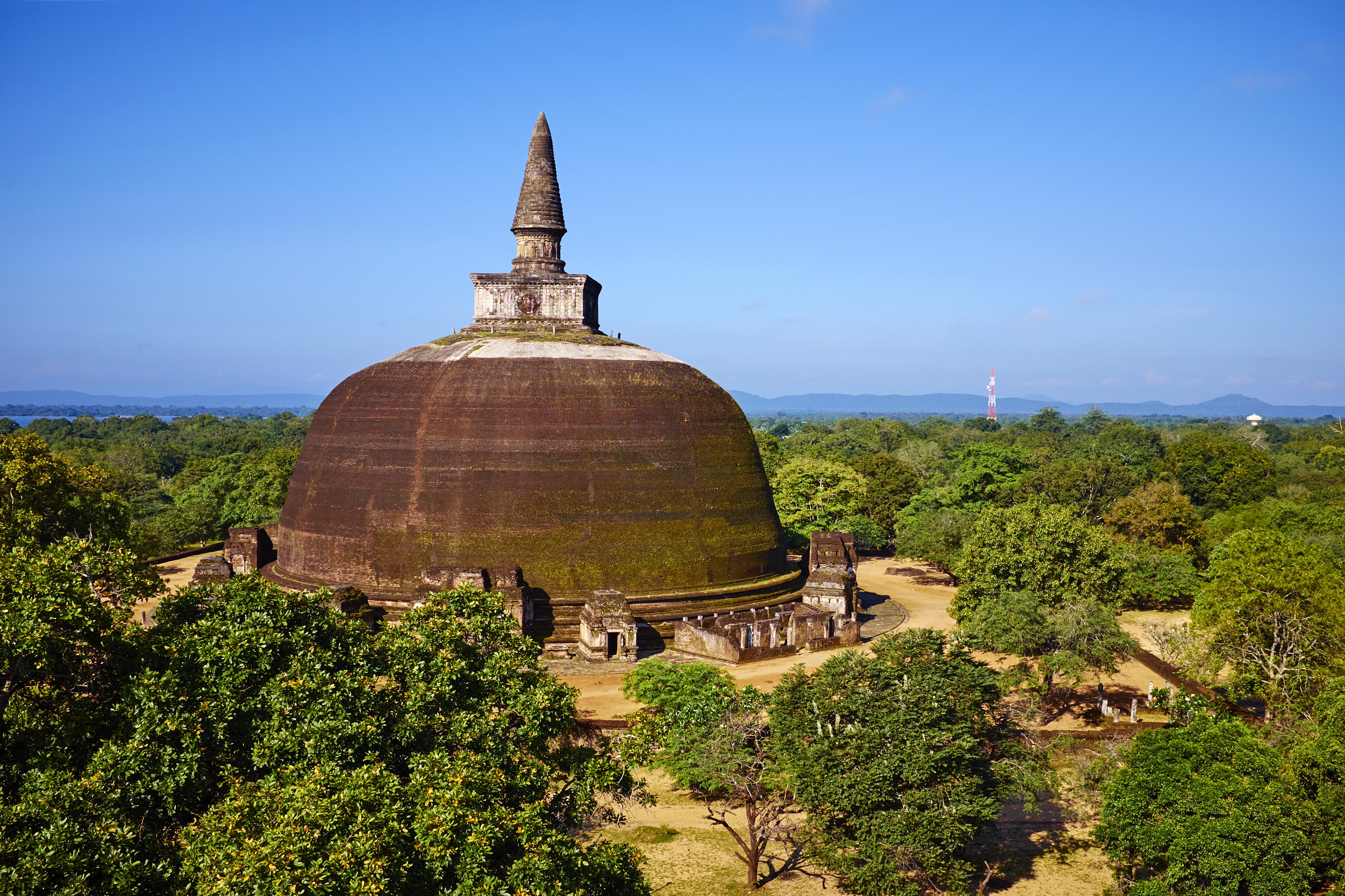 Sri Lanka, Polonnaruwa, Rankot vihara