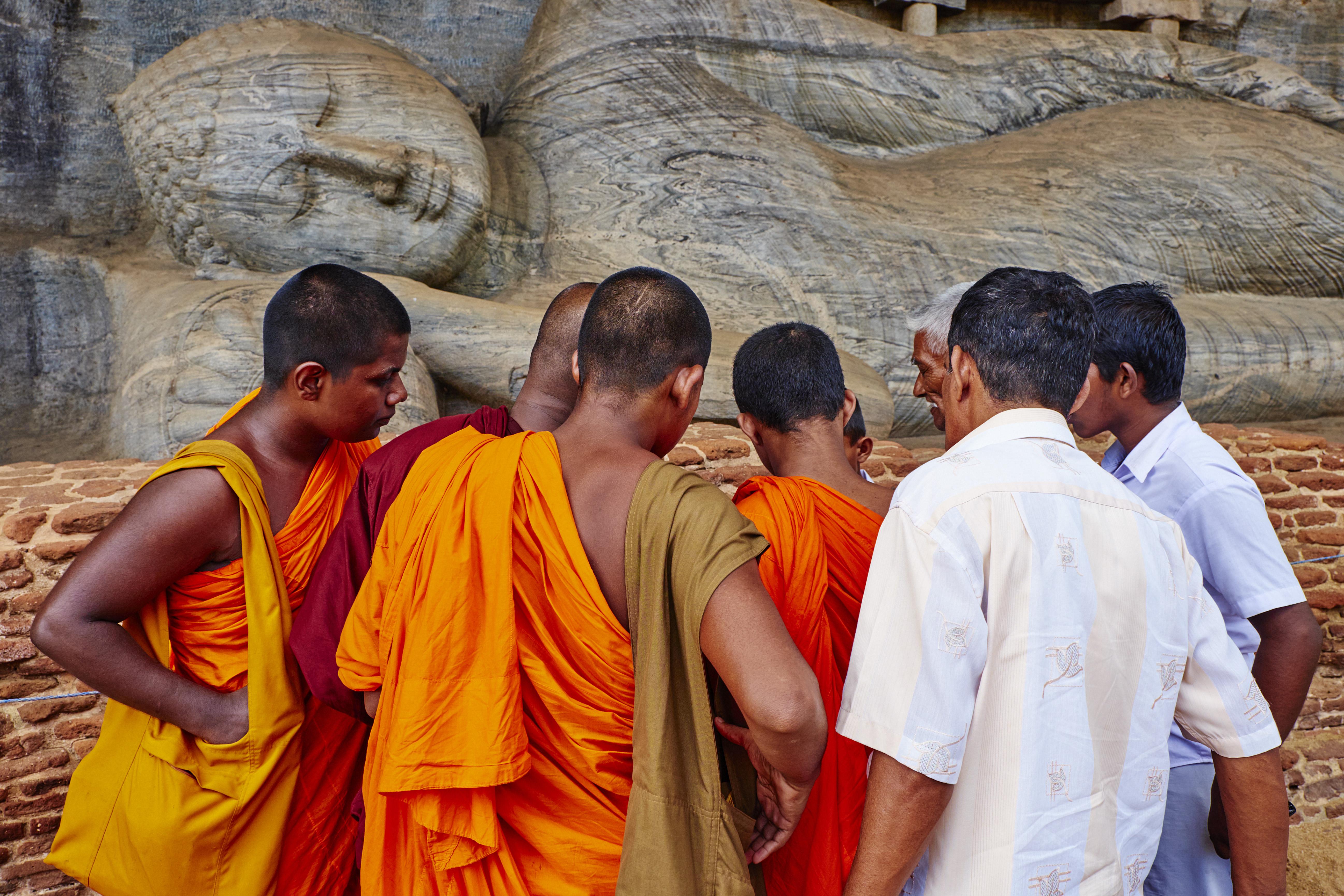Sri Lanka, Polonnaruwa, Gal Vihara temple