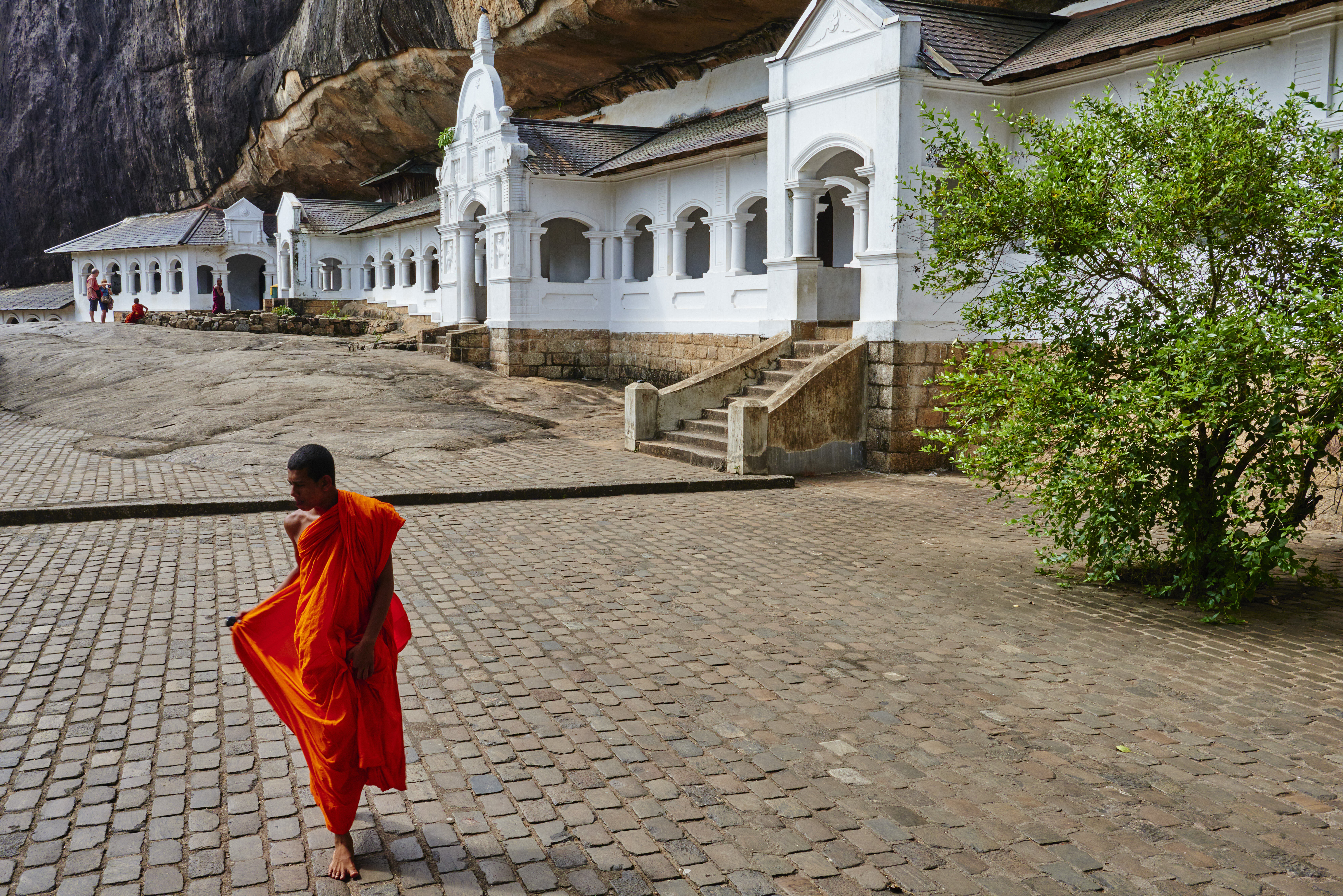 Sri Lanka, Dambulla, Cave Temple