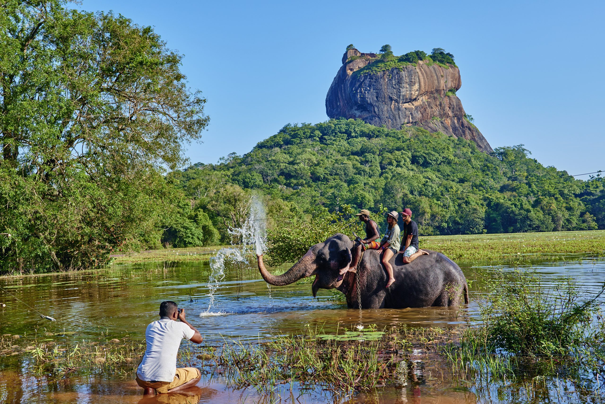 Sri Lanka, Sigiriya Lion Rock fortress