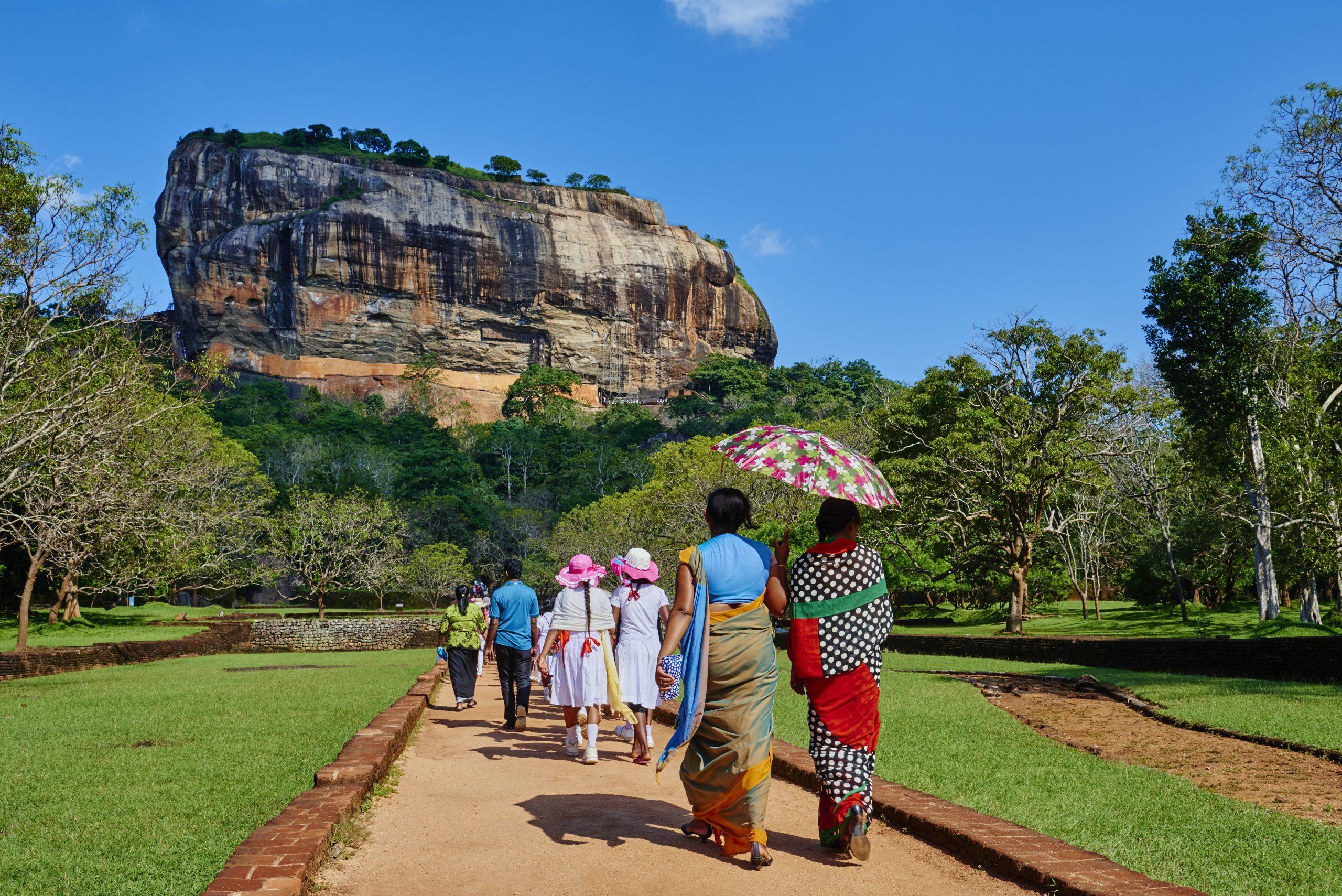 Sri Lanka, Sigiriya Lion Rock fortress