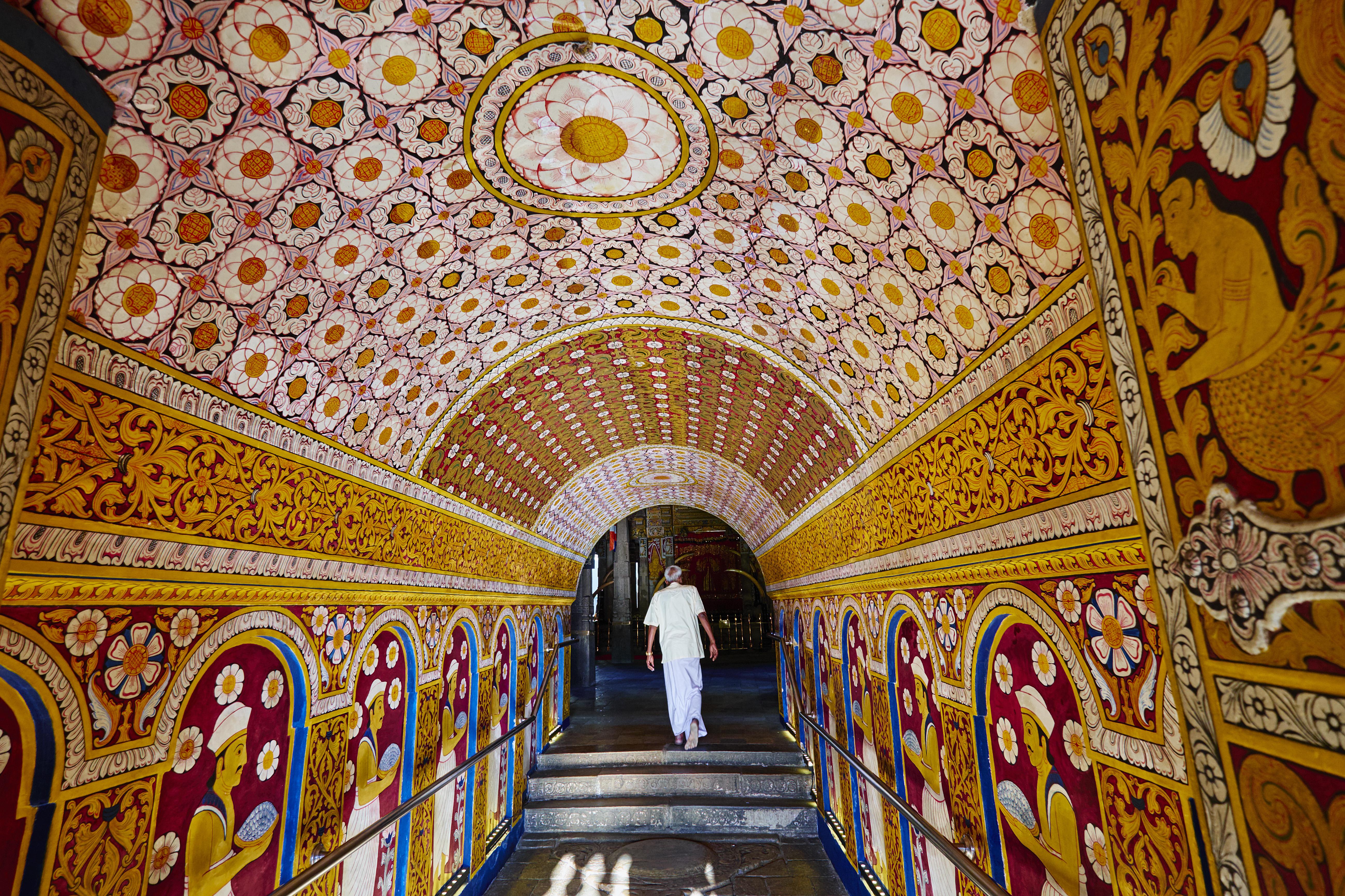 Sri Lanka, Kandy, Tooth's temple