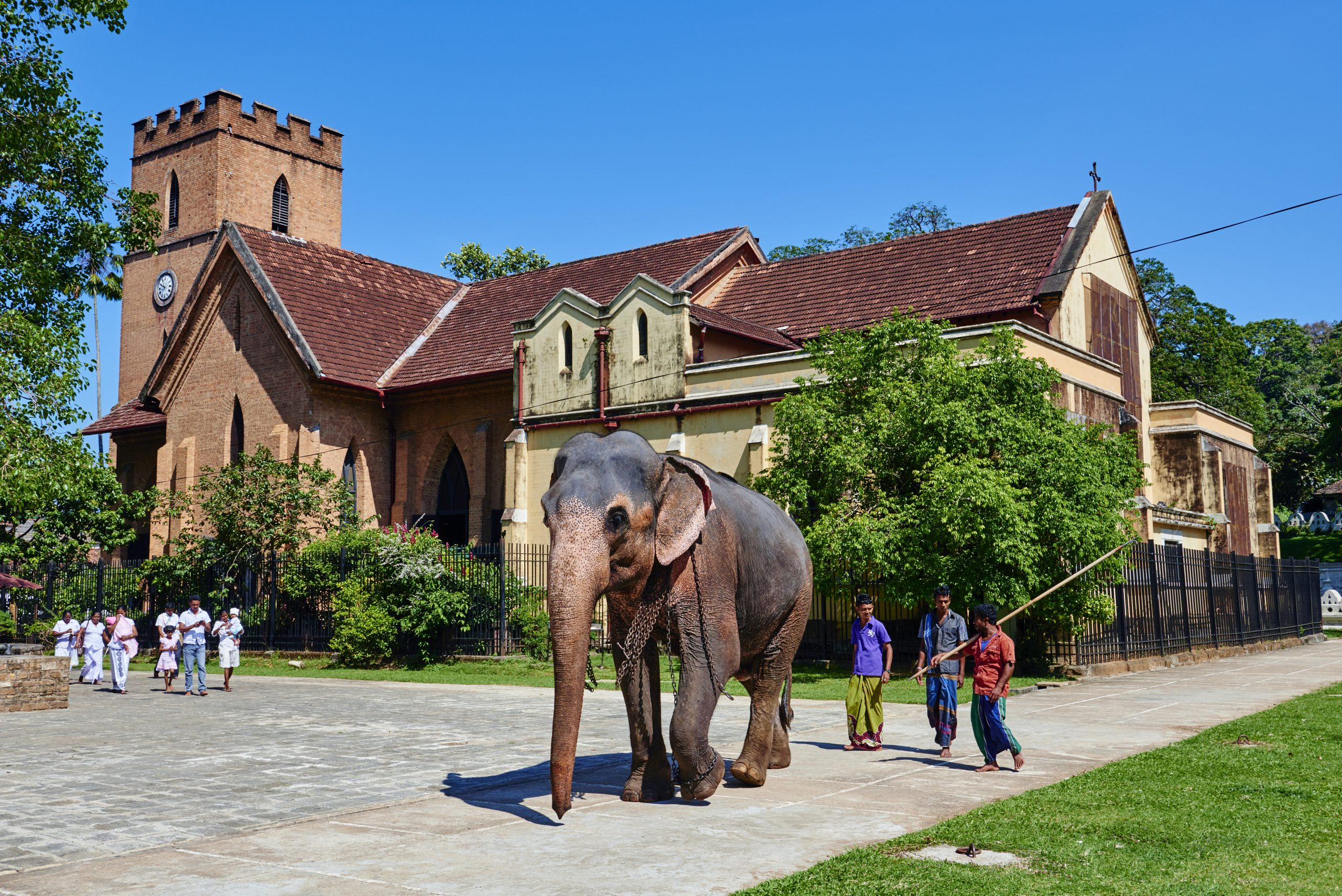Sri Lanka, Kandy, Saint Paul church