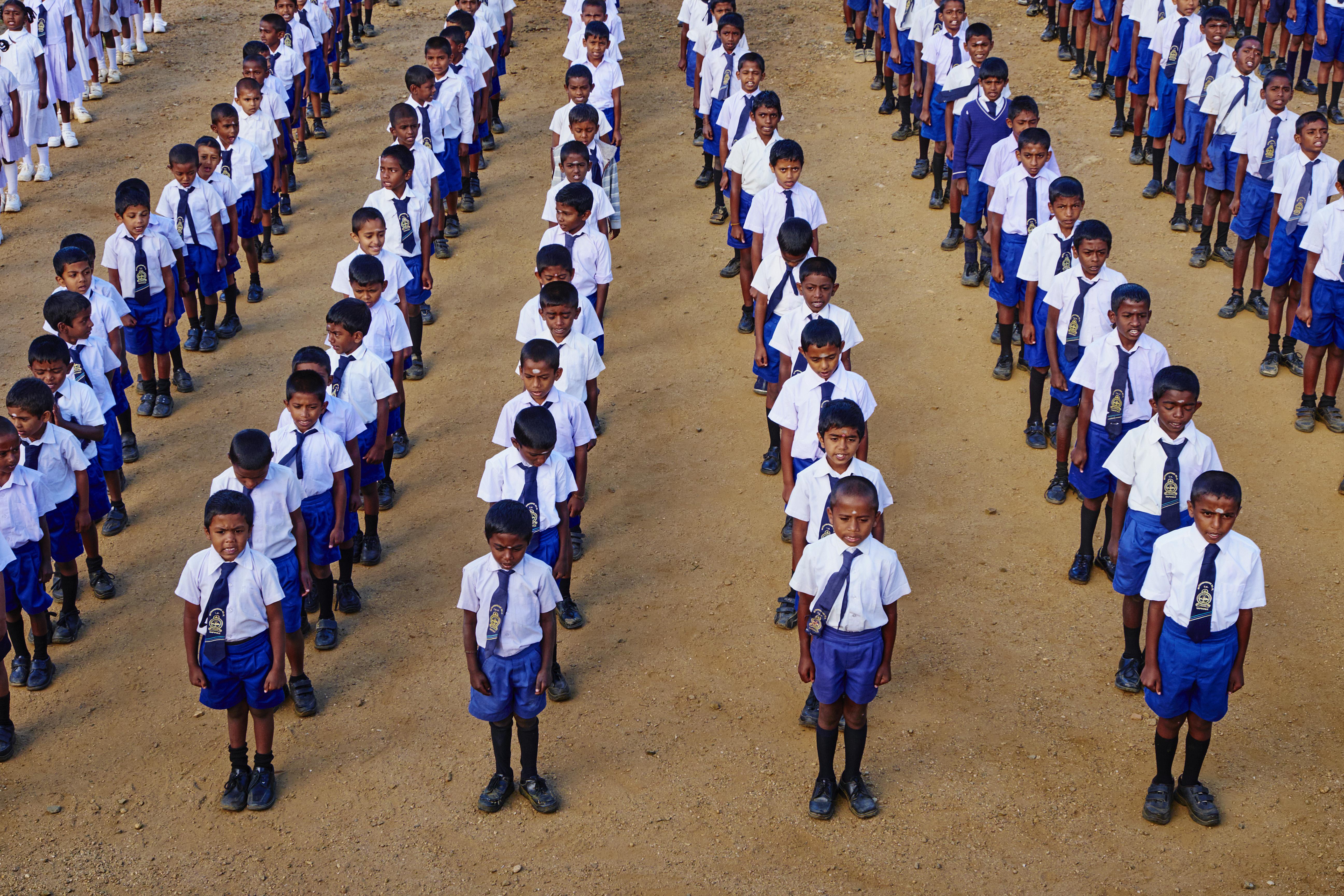 Sri Lanka, Haputale, Primary School