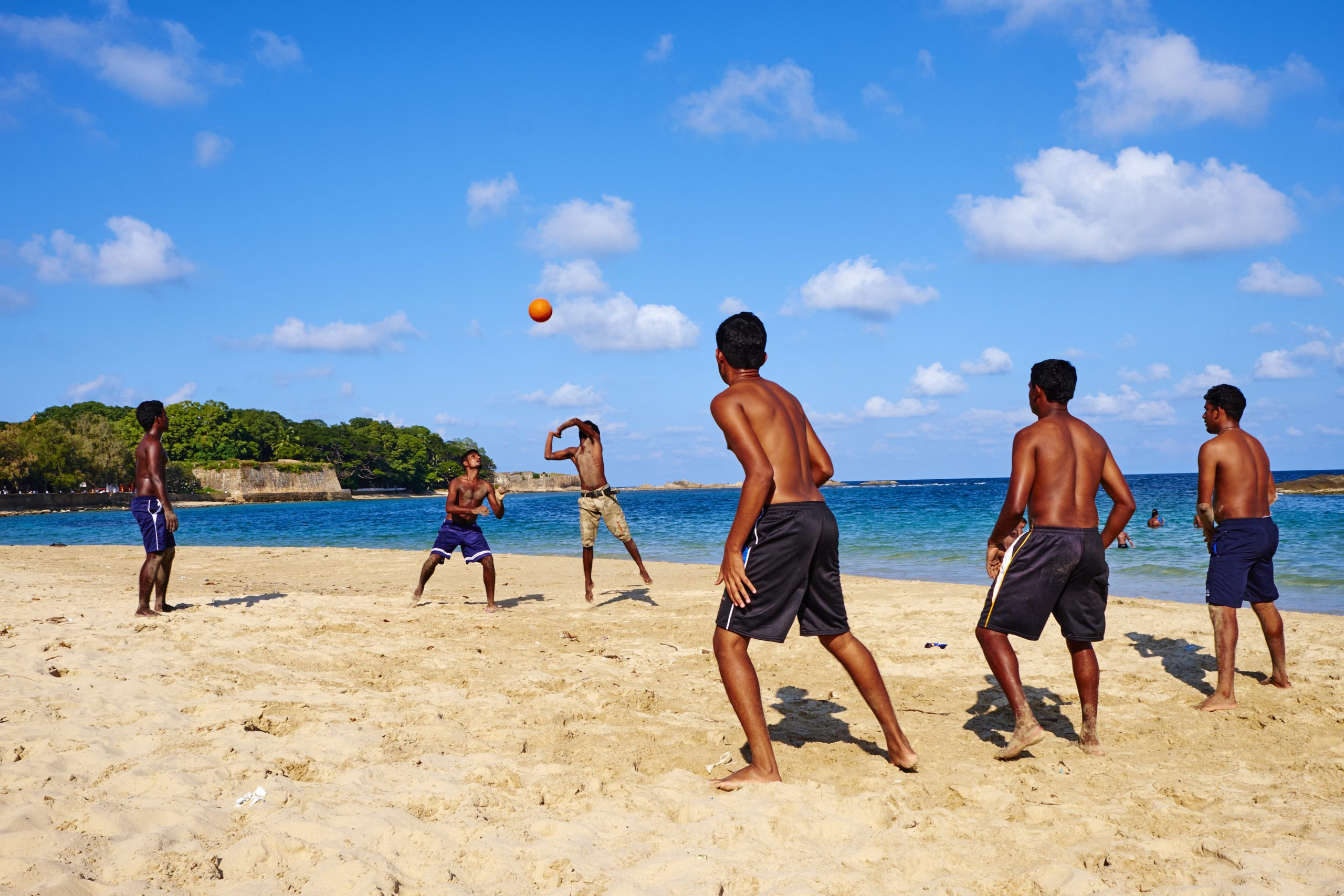 Sri Lanka, Trincomalee, beach volley