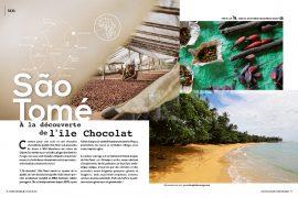 Sao Tomé, à la découverte de l'île chocolat