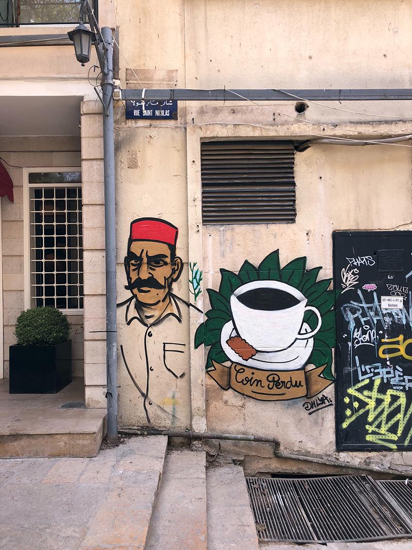 Street art Gemmayzeh