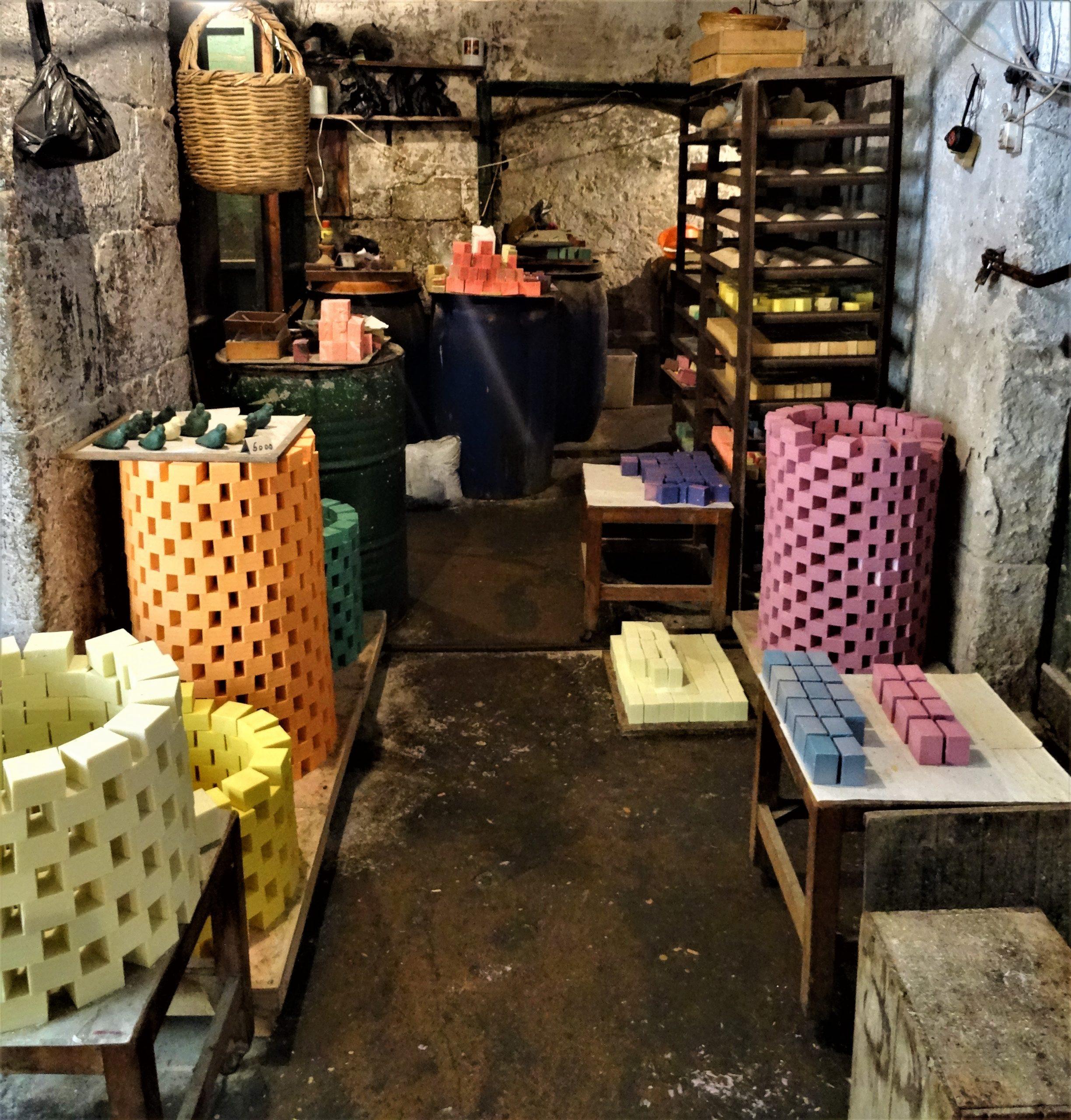 fabricant de savon, souk de Tripoli