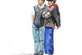 Colombie - Deux potes Misak