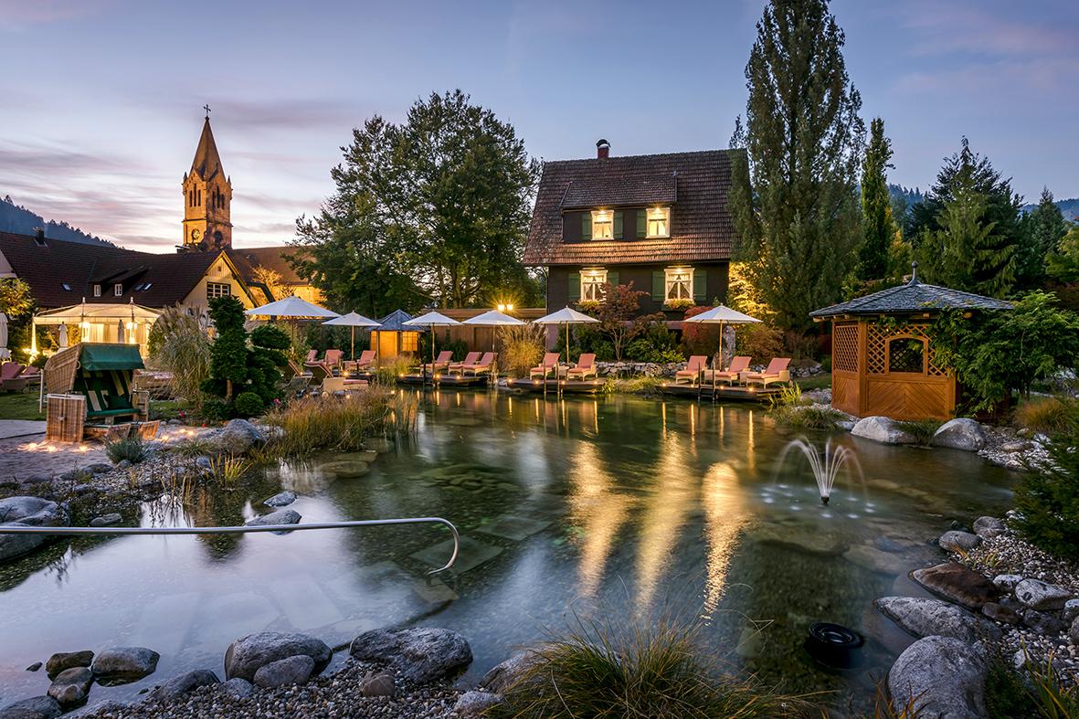 Hôtel Bareiss - bassin extérieur (7)