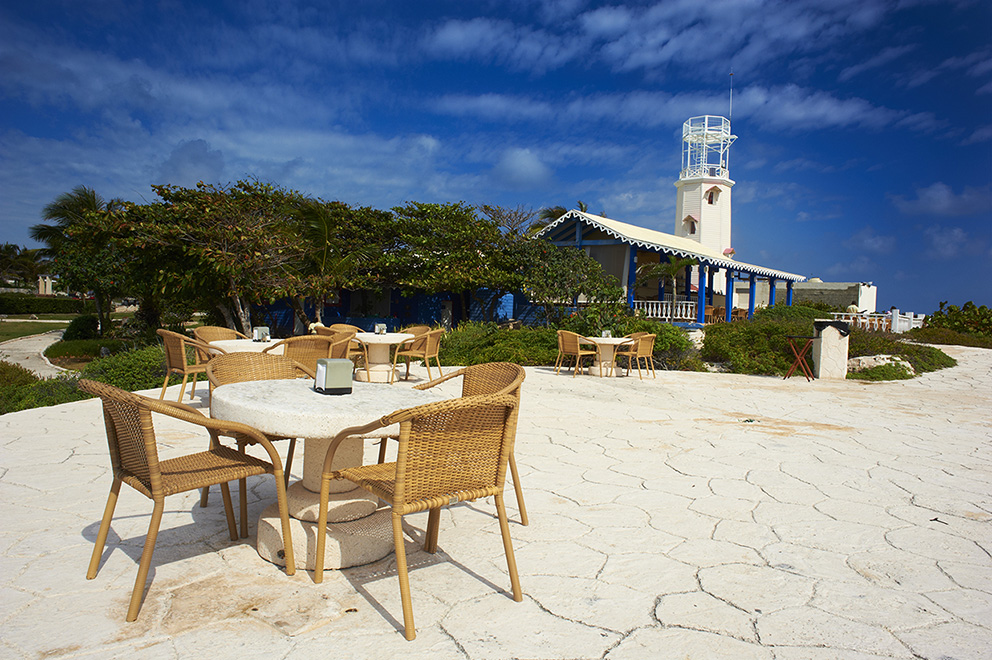 Mexico, Quintana Roo state, riviera maya, Isla Mujeres island, South point, restaurant