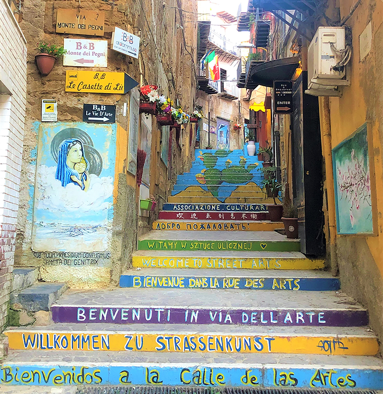 Agrigente- Rue des Arts