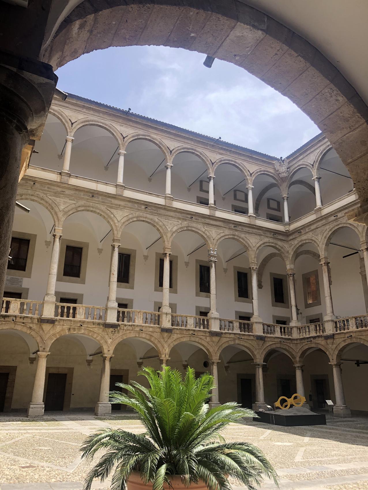 Palerme-Palais des Normands