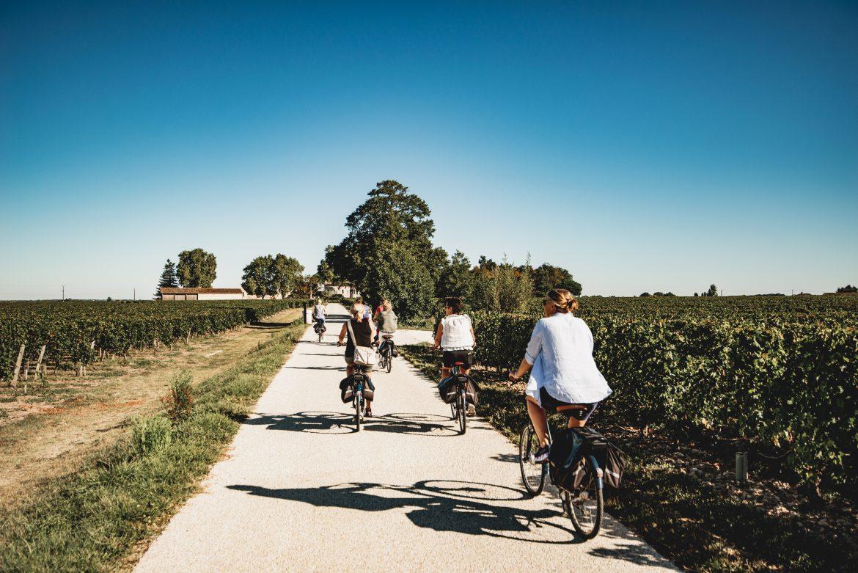 What's new TiddenJournée visite et dégustations en vélo electrique - Saint-Emilion - Copyright Rusticvines
