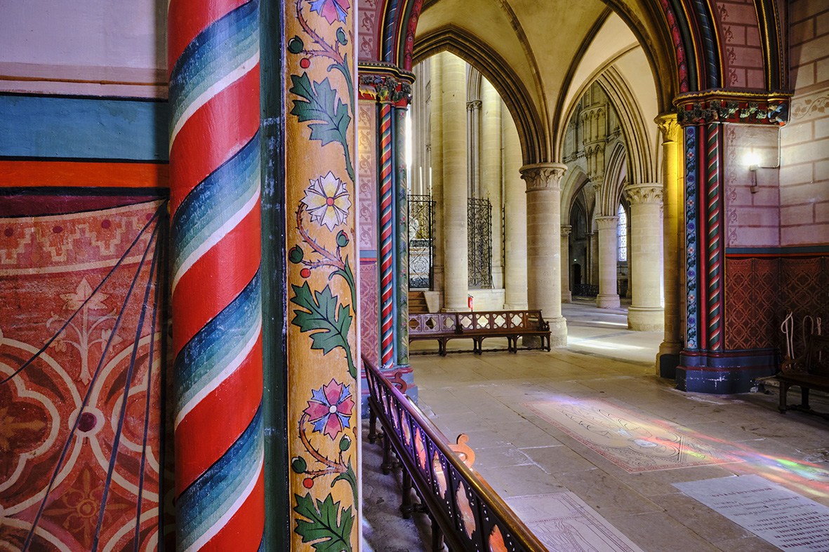 France, Normandy, Manche department, Coutances, Notre-Dame of Coutances cathedral