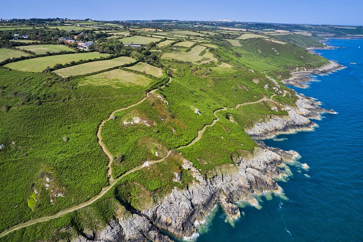 France, Normandy, Manche department, Cotentin, Cap de la Hague, Gréville-Hague, coastal path