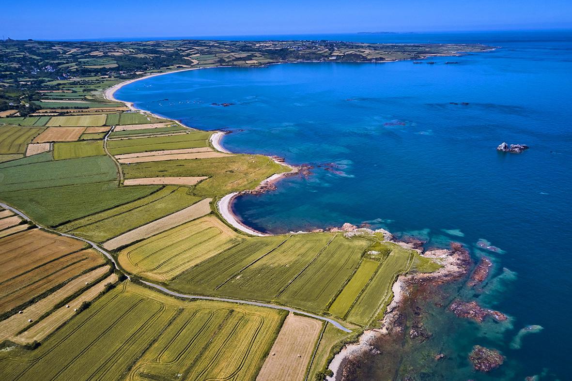 France, Normandy, Manche department, Cotentin, Omonville-la-Rogue, la côte