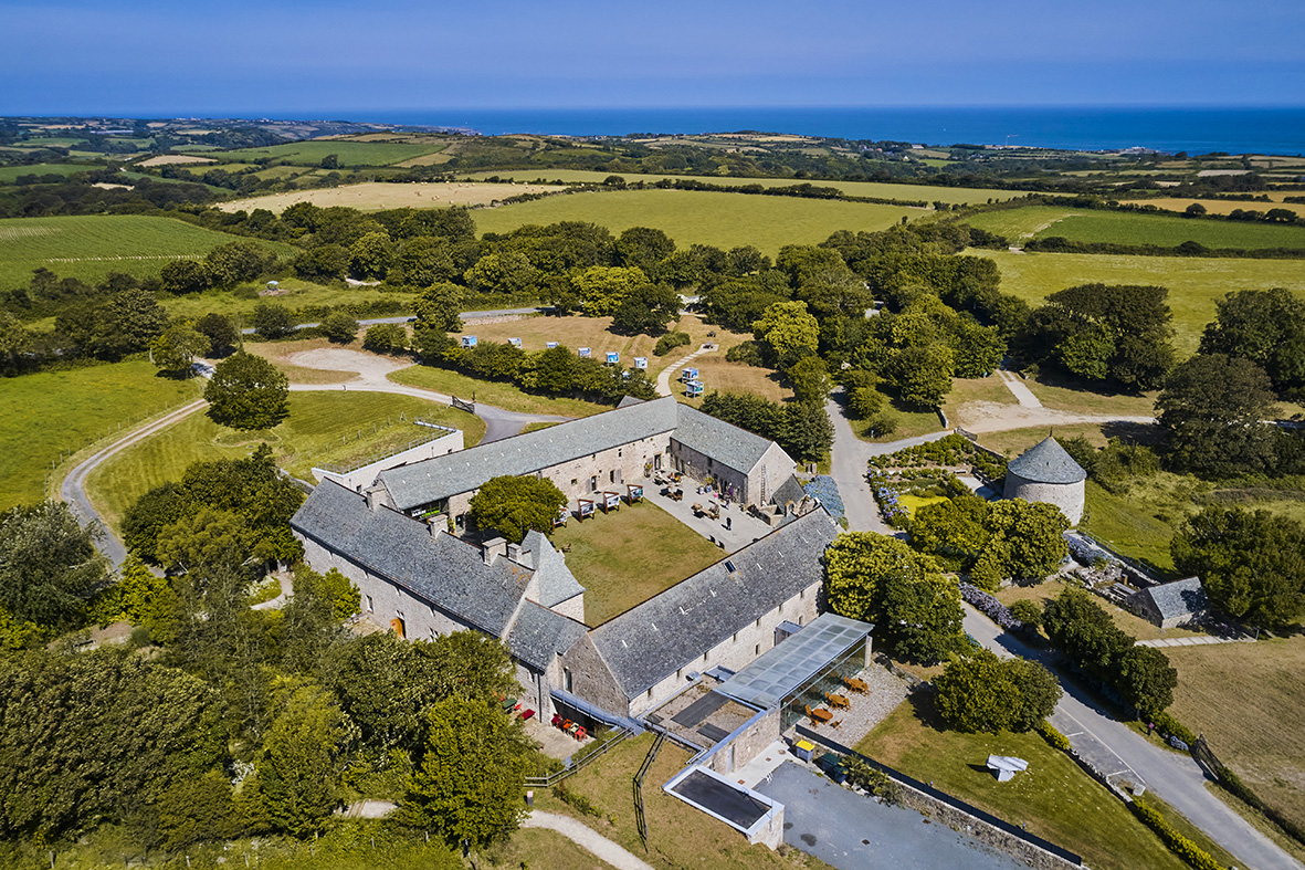 France, Normandy, Manche department, Cotentin, Omonville-la-Rogue, the 16th century Manor of Tourp