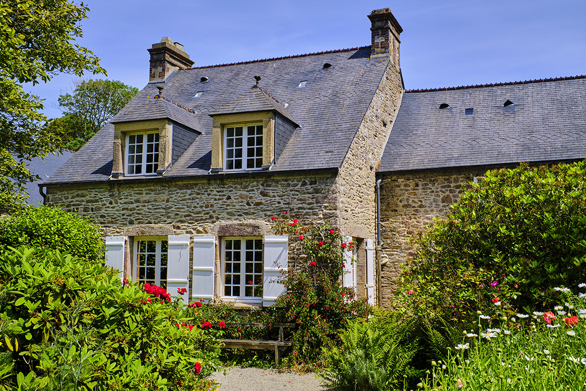 France, Normandy, Manche department, Cotentin, Cap de la Hague, Omonville-la-Petite, Jacques Prévert House