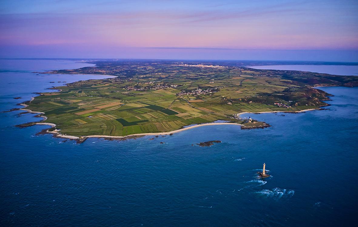 France, Normandy, Manche department, Cotentin, Cap de la Hague, tip of Cotentin and Goury lighthouse