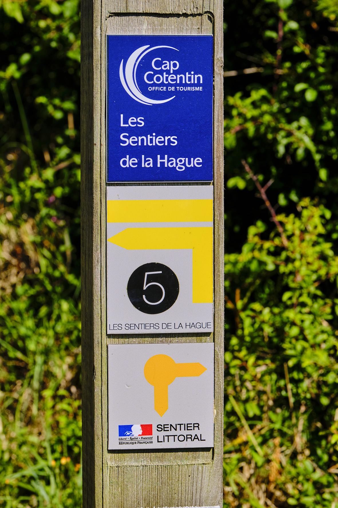 France, Normandy, Manche department, Cotentin, Auderville, coastal path