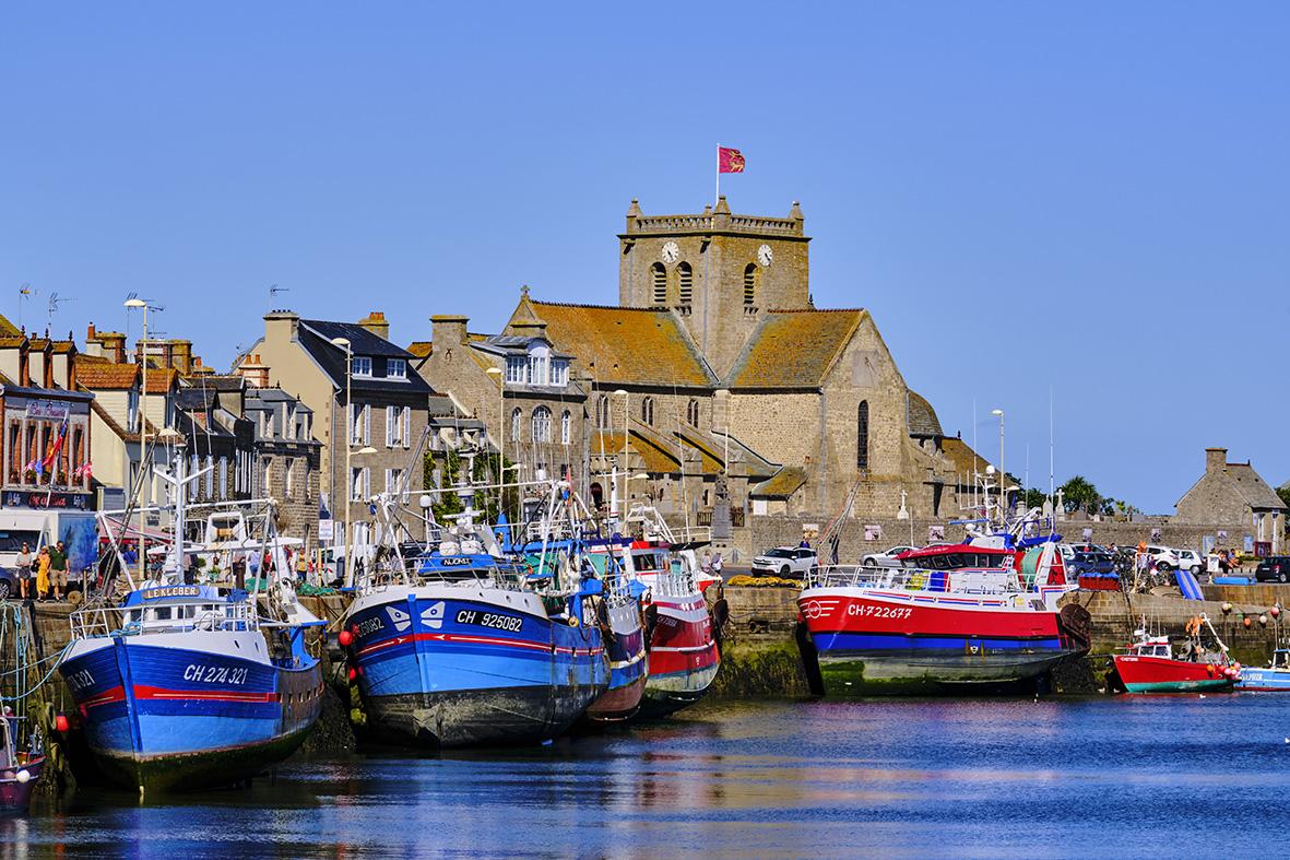 France, Normandy, Manche department, Cotentin, Barfleur, labeled Les Plus Beaux Villages de France