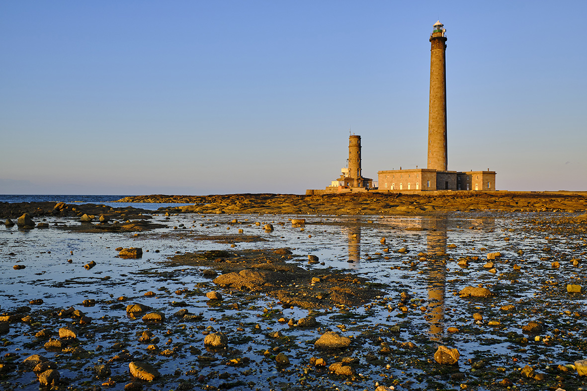 France, Normandy, Manche department, Cotentin, Gatteville-le-Phare or Gatteville-Phare, the lighthouse of Gatteville