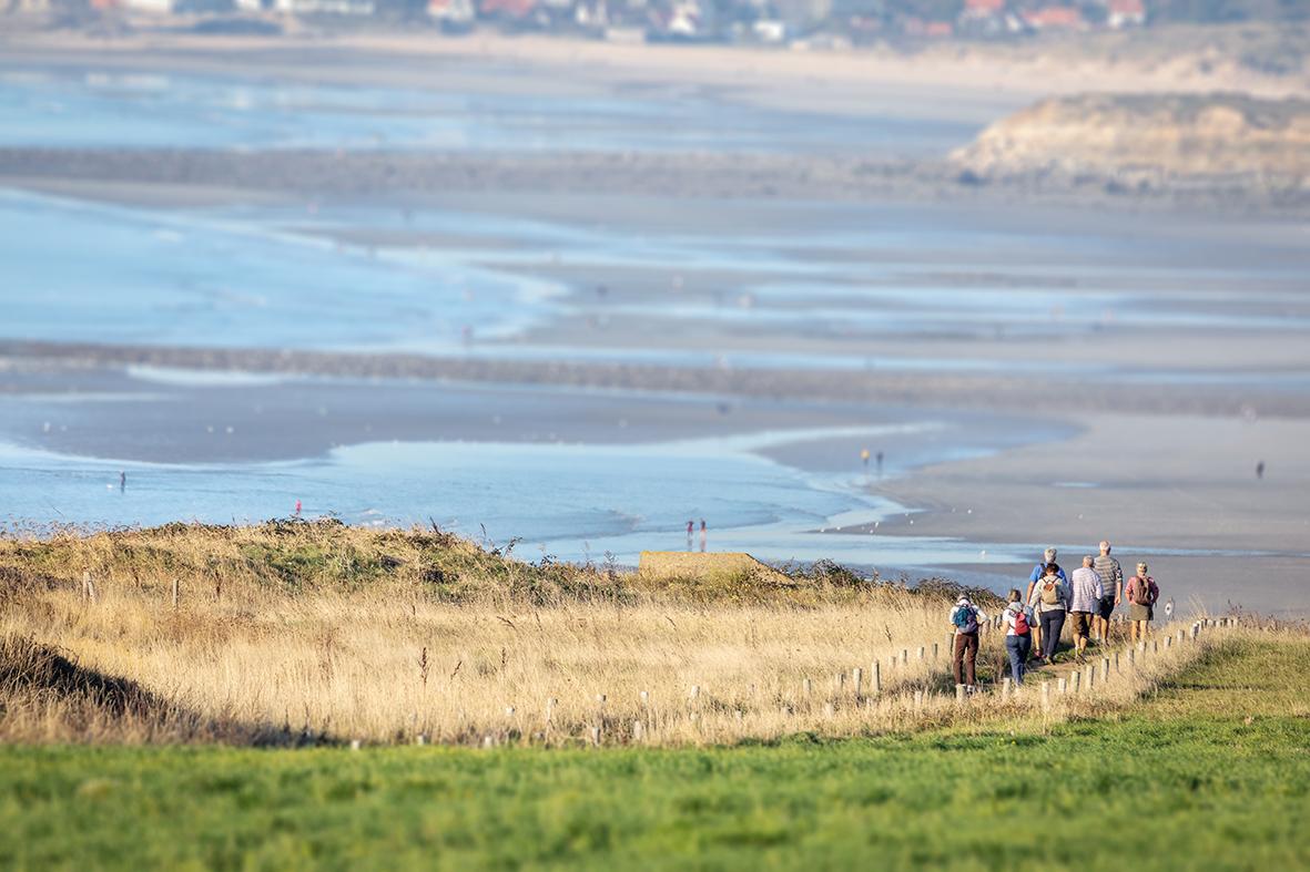 Randonnée sites des Deux-Caps PNR Caps et marais d'Opale © Fabien Coisy