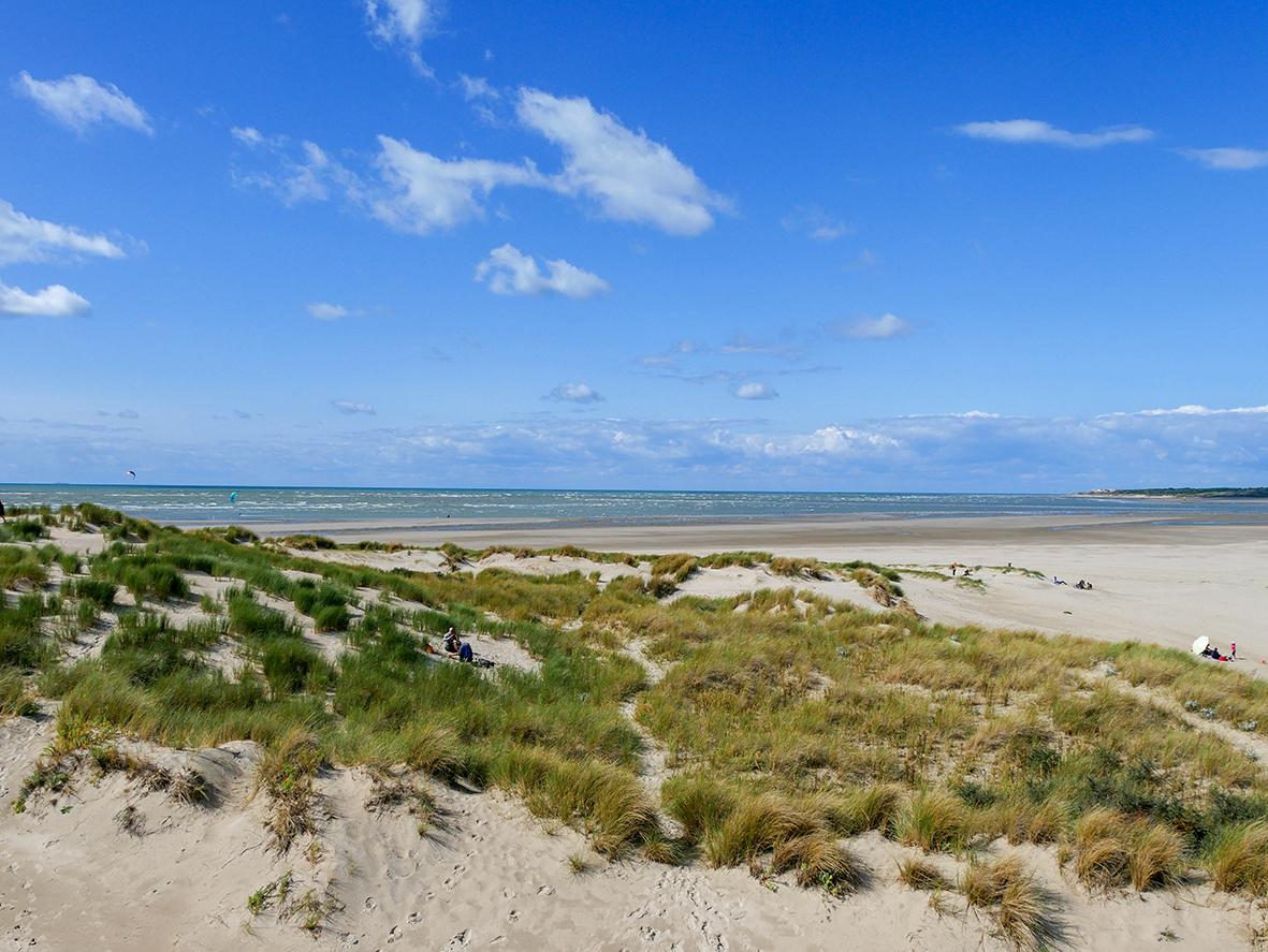 vue sur la baie de Canche ©A.Chaput Pas-de-Calais Tourisme