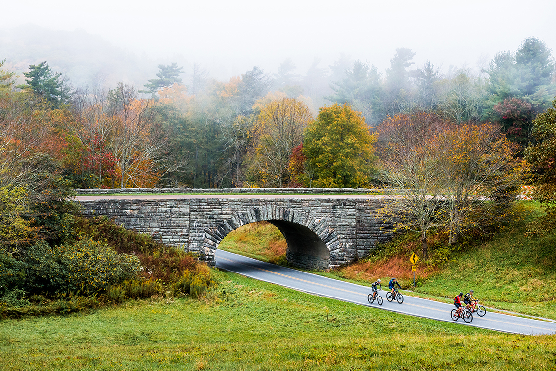 Moses Cone Memorial Park on the Blue Ridge Parkway in North Carolina.