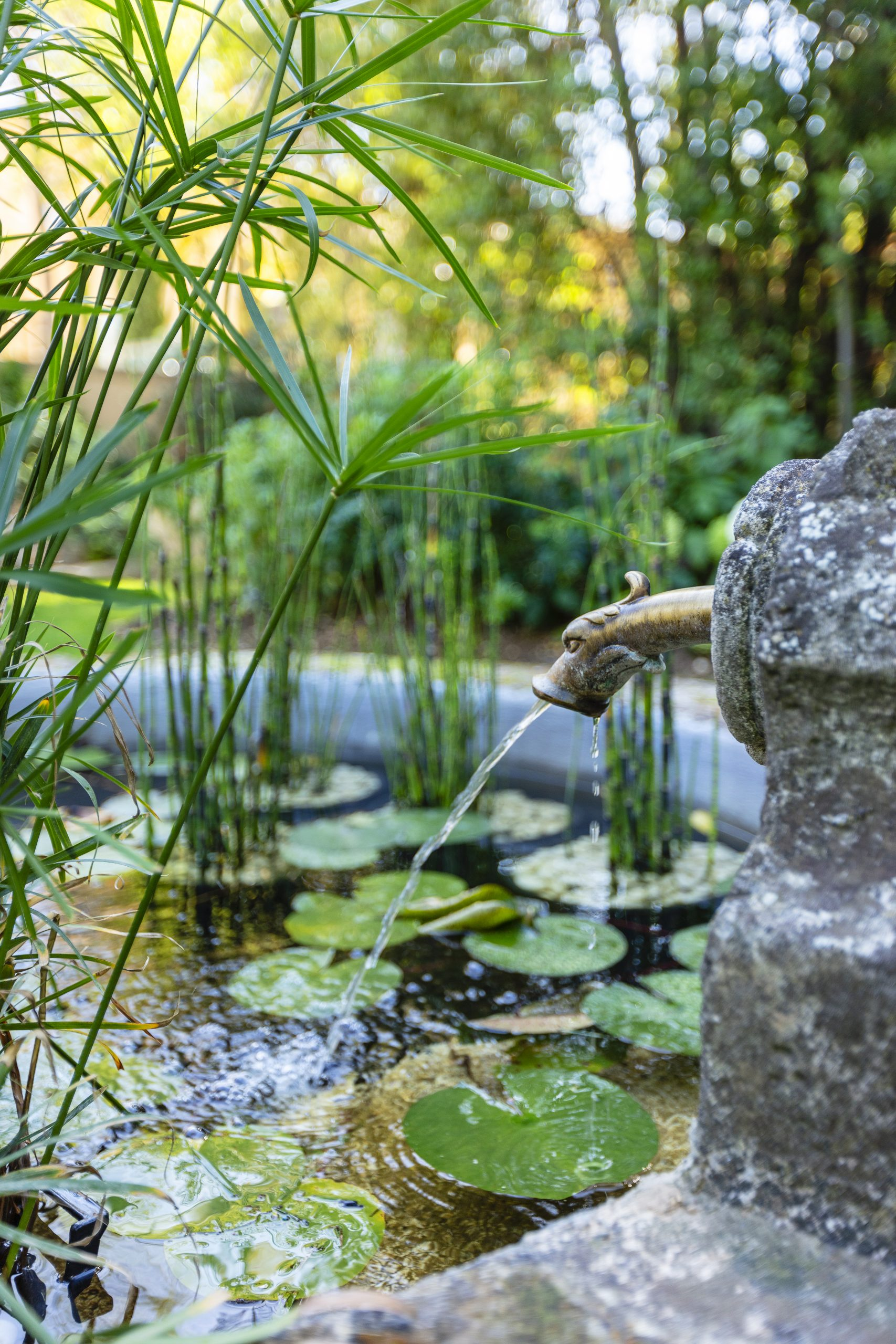 Fontaine Jardin Vert 2