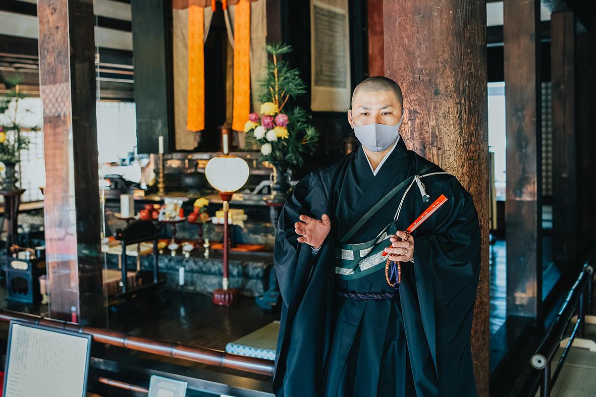 Intérieur Gango-ji, Nara