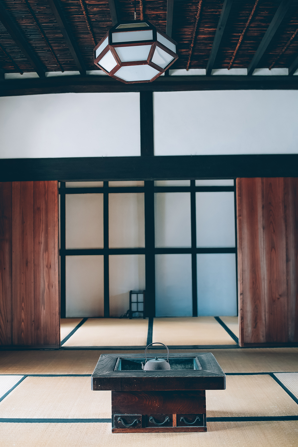 Intérieur maison traditionnelle - Imaicho, Nara