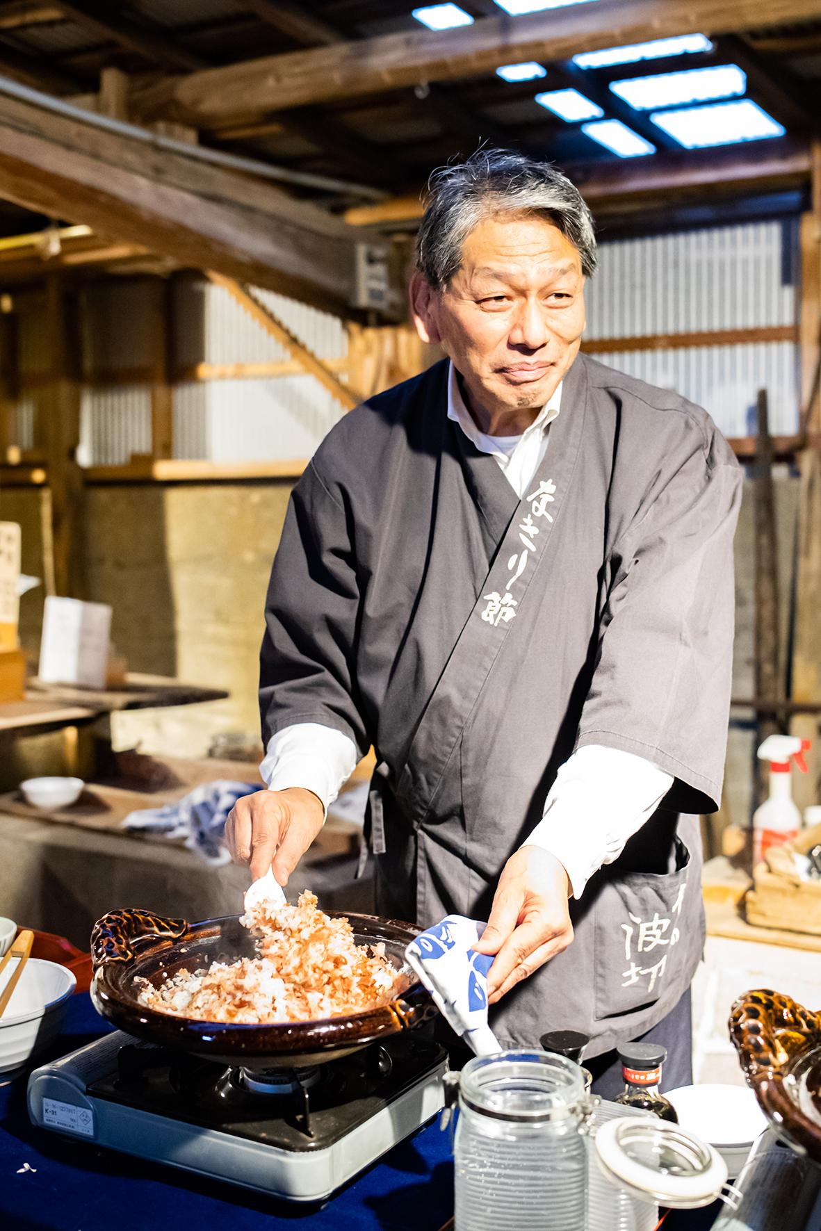 Propriétaire de la fabrique de katsuobushi - Shima, Mie