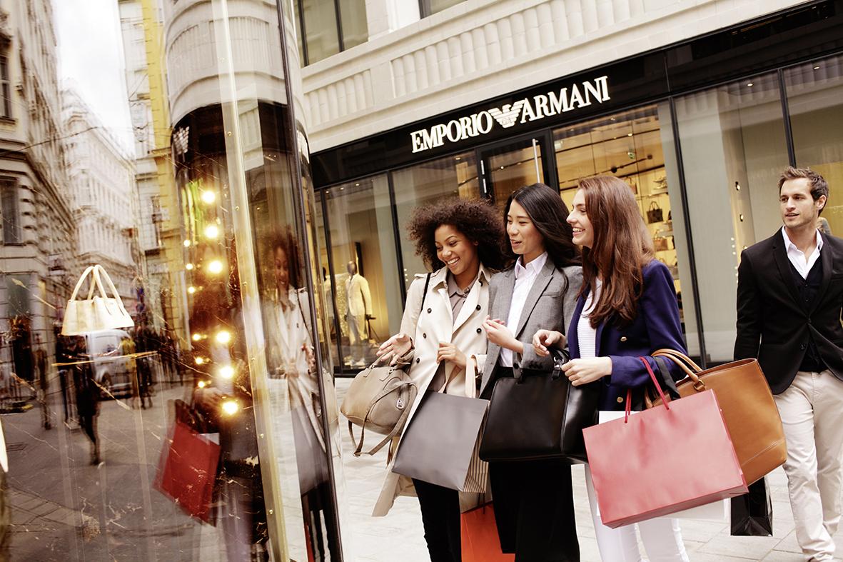 Goldenes Quartier / Goldenes Quartier: luxury shopping area