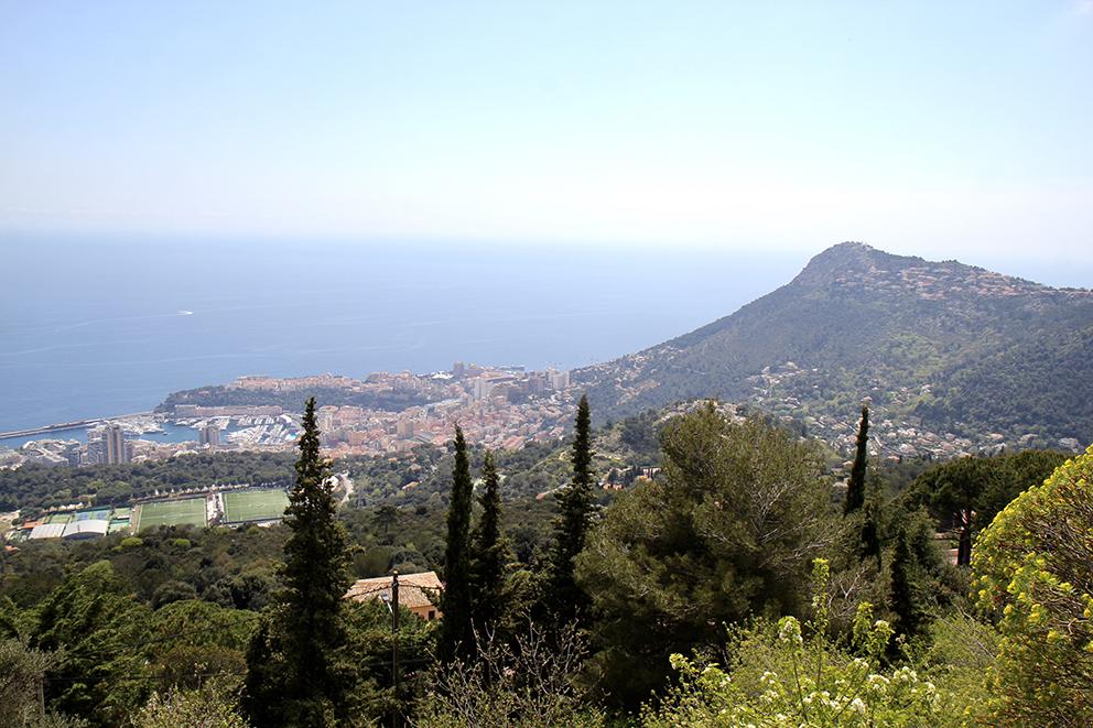 Le Mont Gros à Roquebrune-Cap-Martin culmine à 686m et sert de base d'envol aux amateurs de parapente. Sonia VERANI (6)